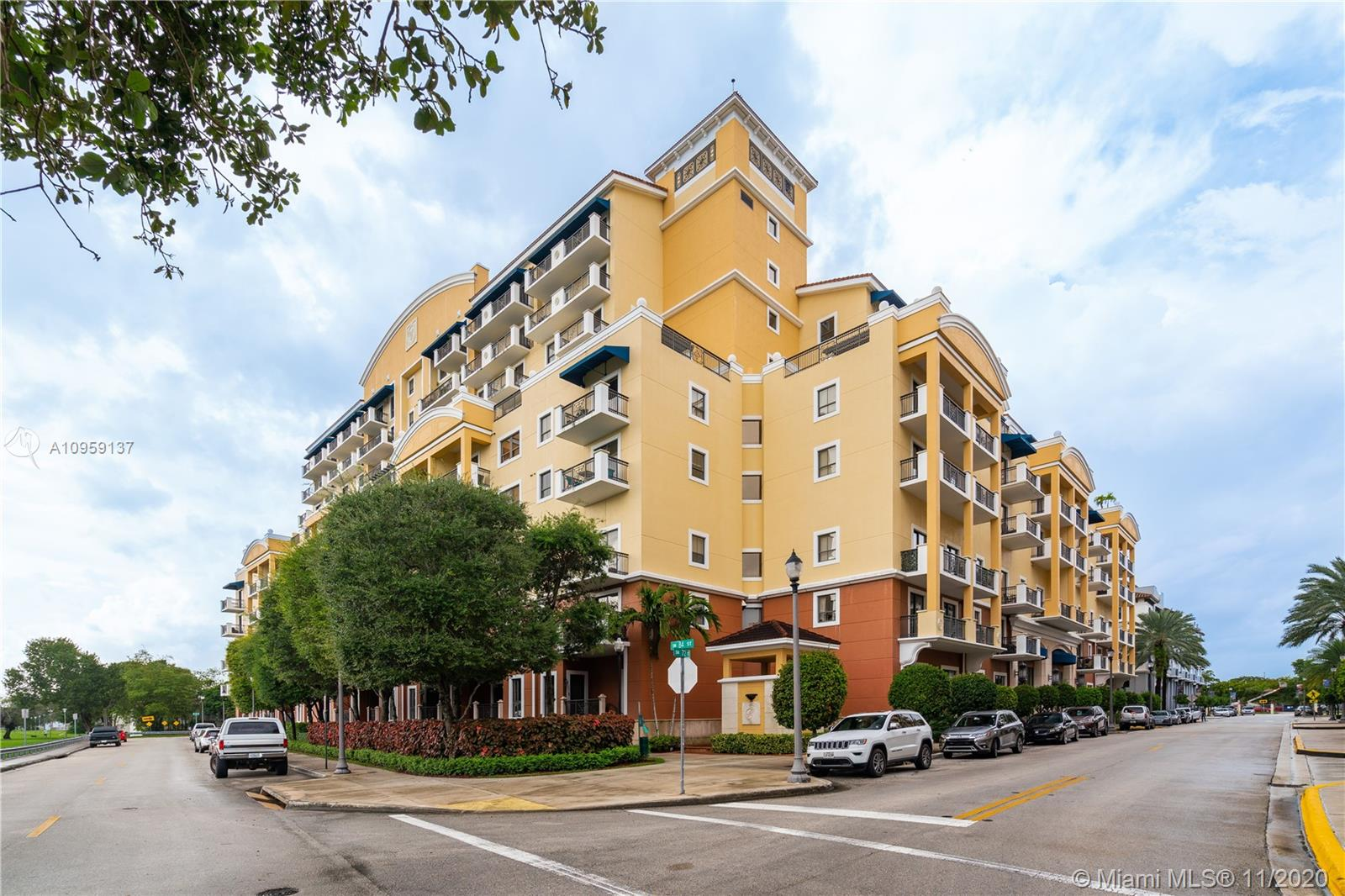 """A 2 Level TOWNHOME in a CONDO that you enter/exit the unit WITHOUT GETTING INTO AN ELEVATOR! Come see Unit 118 in the """"Colonnade AT Dadeland Condo SW""""! Enter this 2Bdrm/2.5 Ba/2 level Townhome from the Lobby with 24/7 Security and thru a private hallway just for your unit & 1 other unit! From the Foyer entry you will see the beautiful wood floors, high volume ceilings & know that you have ALL IMPACT Glass windows/Doors to the exterior! The kitchen has high quality wood cabinetry, granite counter-tops, SS GE Profile Appliances and opens to the entertaining areas separated by a Bar/Snack counter-top! The Master suite has a balcony overlooking 73 Court (NOT 72 AVE!), 2 Walk-In closets and a large Master bath with a Roman Tub & a separate Shower and double vanities!  See supplemental remarks."""