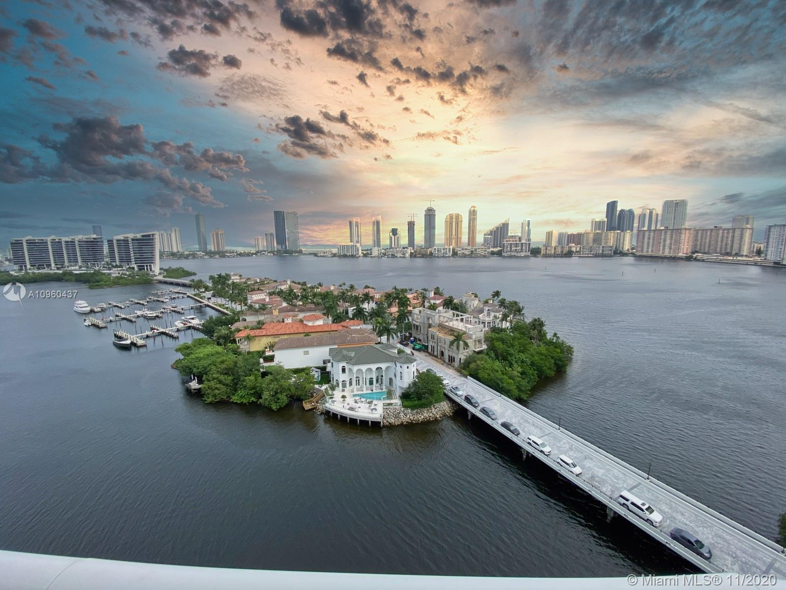 This is the perfect place to enjoy inmediately! Spectacular flow through 3 bed/2.5 baths 2180 SQFT turn key residence - Furniture included! Amazing intracoastal & ocean views. Top of the line kitchen with Gaggenau and Miele appliances. Enjoy the best lifestyle at Williams Island! Tennis courts, Gym, Spa, Marina, Restaurants, kids playground & more! *Wall Art, Paintings, Pictures,Sculptures & accessories are NOT included.
