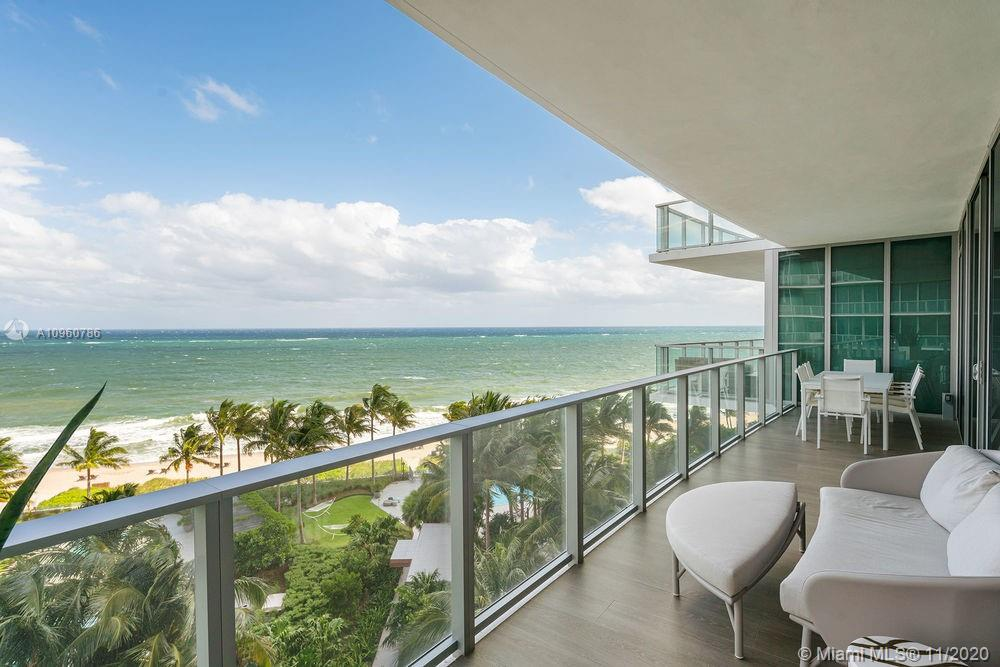 INCREDIBLE OPPORTUNITY TO OWN THE BEST PRICED 4 BED/4.5BATH OFFERING DIRECT OCEAN & STUNNING INTRACOASTAL VIEWS! THIS FLOW-THROUGH HOME IN THE SKY IS FURNISHED & DESIGNED BY FAMED STEVEN G. INTERIORS & WILL NOT LAST LONG. THE 6TH FLOOR IS THE ABSOLUTE PERFECT HIEGHT SITTING ABOVE THE PALM TREE GARDEN AND EXQUISITE POOL AREA W/CABANAS & BBQ. ENOY HOW SPACIOUS EACH ENSUITE BEDROOM IS AS WELL AS THE TREMENDOUS ENTERTAINING SPACE & CHEF INSPIRED KITCHEN OVERLOOKING THE OCEAN. DEVELOPED BY RELATED GROUP w/ONLY THE BEST FINISHES. Owners Only Amenities and Services–Golf Simulator, Gym/Steam, Theater, Kids/Teen Rooms, Napa Wine Salon, Cigar & Billiards, Pool & Beach Attendants & Concierge. Owners enjoy VIP access to our open to the public oceanfront restaurant DUNE & Auberge Signature Spa. MUSTSEE