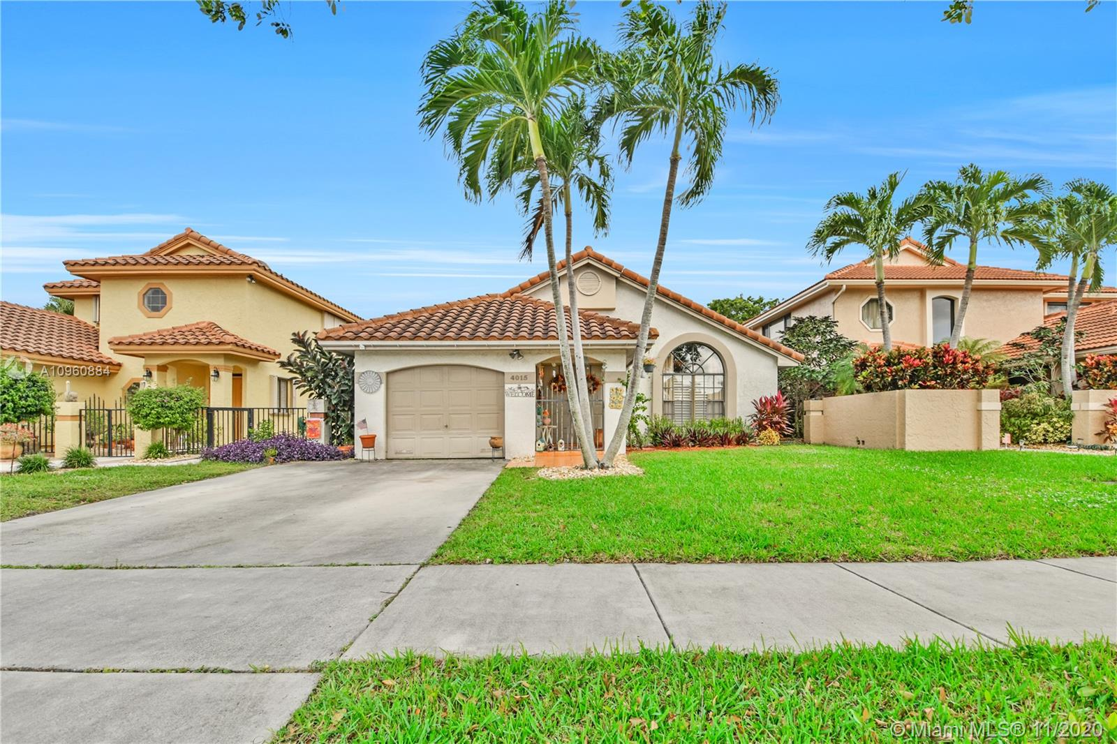 You will love this 1-story home located in the Villages of Hillsboro Deerfield Beach. This one of the best places to live in Florida. It offers residents an urban feel with access to many restaurants, parks, and highly rated public schools.  DON'T MISS THIS OPPORTUNITY. Make your own this 3-bedrooms, 2-bathrooms home, with an extra-large master bedroom. This house is perfect for entertaining with a large family room, kitchen, and Florida room with access to a cozy backyard with canal views. The central A/C unit is only three years old.   PRICED TO SELL! WILL GO FAST! CALL ME TODAY.