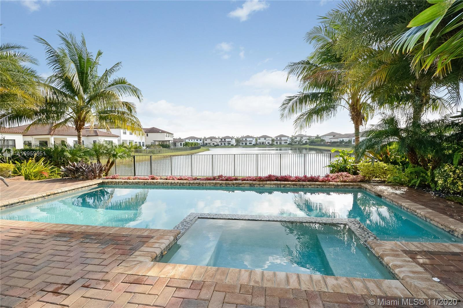 Rare opportunity in cooper City's most sought after community of Monterra. The Cambria Model is an Estate Home situated on a prime waterfront lot encompassing a gorgeous pool & tropical landscaping. The 5 bedroom home offers the owner's suite on ground level & 4 bedrooms plus loft on second level along with 3.5 baths. The  open floor-plan is highlighted by cabana bath, crown molding, mud room, custom closets ,hurricane impact windows and porcelain/wood flooring. The 3 car garage offers epoxy high shine polished concrete. Monterra is a 24/7 man gated community offering a state of the art clubhouse. You will enjoy a complete workout, pool, tennis, basketball, dog park, tot lot and A-plus rated schools. Located minutes from all major highways and FTL   airport. Price is firm!