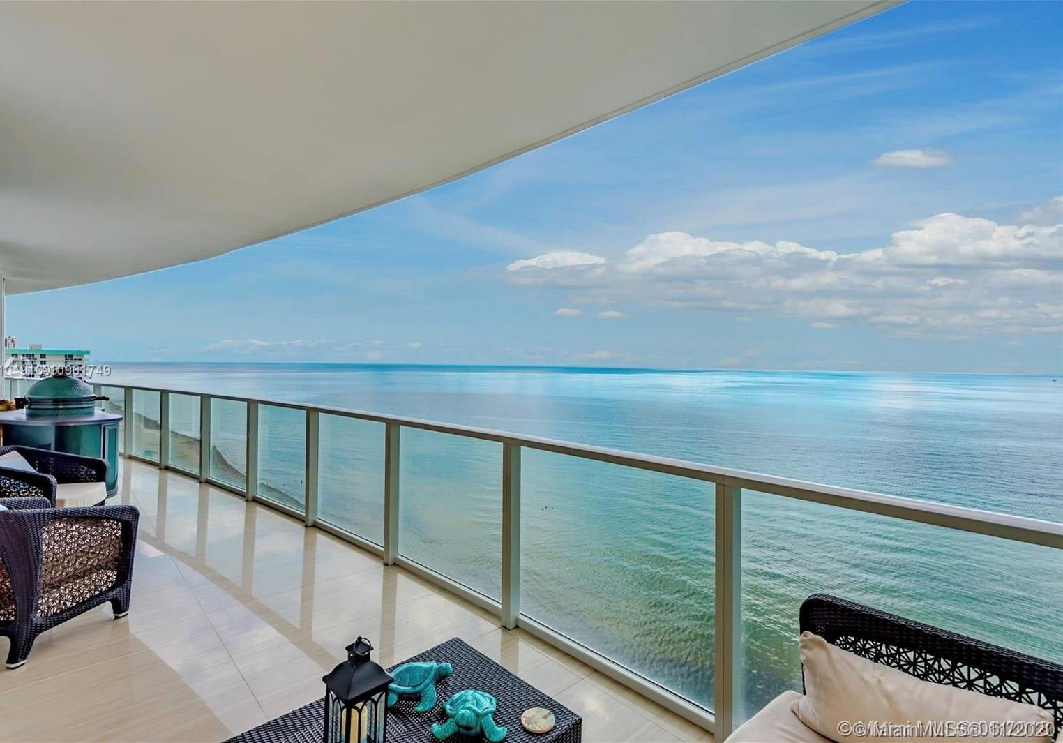 OFFERED TURNKEY. EXTRAORDINARY ,BEAUTIFUL AND UNIQUE UNIT ALL DECORATED AND FINISHED BY THE WELL-KNOWN DESIGNER STEVEN G. FABULOUS FLOW-THROUGH 4BED+DEN/4.5BATHS PRIVATE RESIDENCE WITH BREATHTAKING, UNOBSTRUCTED, DIRECT OCEAN VIEWS FROM THE LIVING,DINING, KITCHEN, MASTER, 2ND AND 3RD BEDROOMS +SPECTACULAR INTRACOASTAL AND CITY VIEWS FROM 4TH BEDROOM AND DEN AS WELL.Pool with attendants, state of the art gym, playroom,private beach attendants. IT IS A MUST SEE. READY TO MOVE IN.