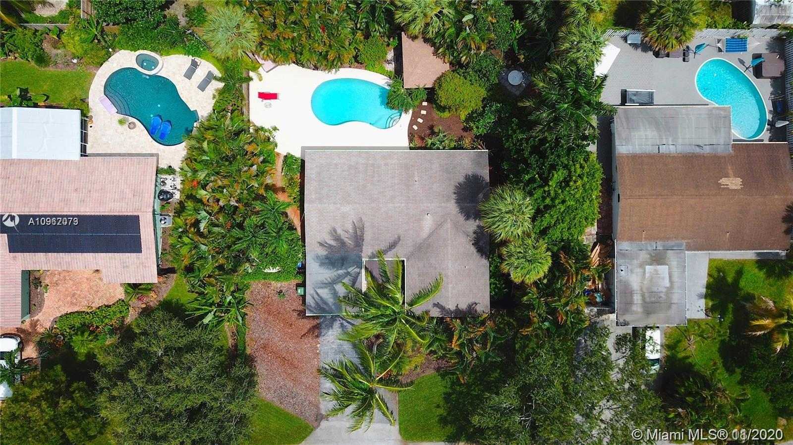 Stunning 3/2 single family home with pool sitting on a 11, 000 sq foot lot! Ample room for parking boats, Rv or whatever other toys you may have. Situated close to downtown Fort Lauderdale and Las Olas on a quiet dead end street. Home has an open concept with carport and separate laundry room. Roof, AC, electrical all in great shape and relatively new. Home boasts a recently upgraded pool, Outdoor shower Cabana with power/tv, hot tub, tiki bar, Mature landscape/garden and 150 sqft metal storage building with power. ! Boat ramps and parks all within walking distance. This property will not last long so please inquire today! Make sure to check out virtual tour of this property ! 
