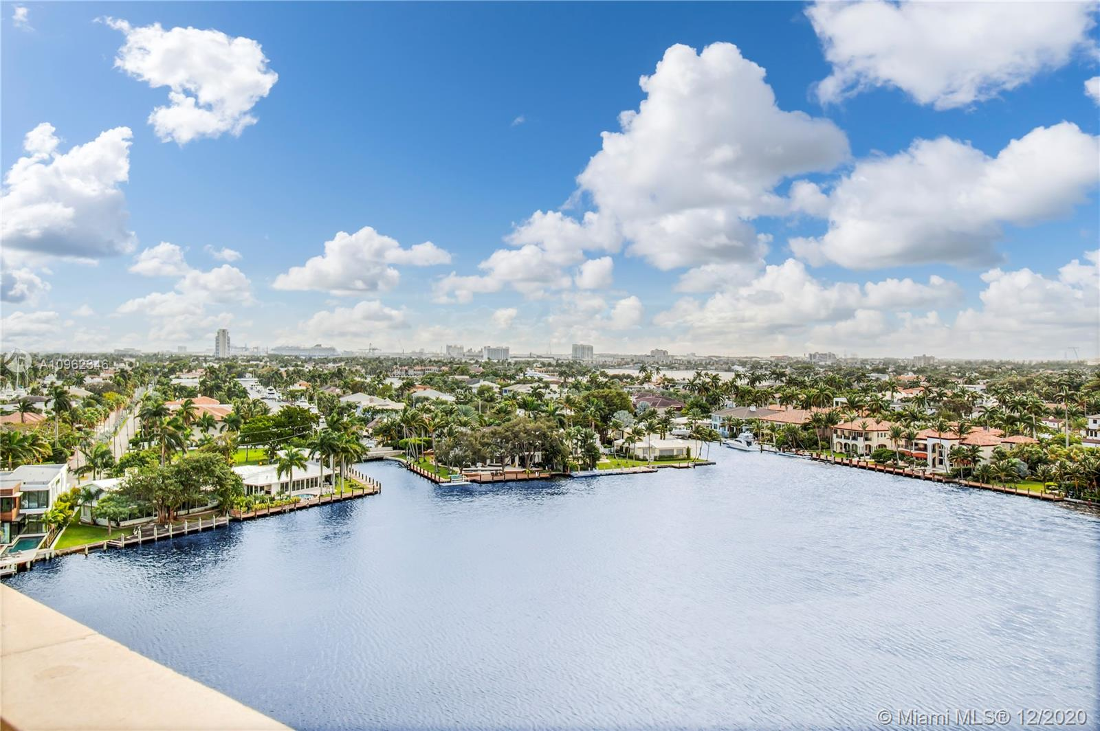Massive 4 Bedroom 5 Bathroom condo overlooking Sunset Lake. This unit is a result of an assemblage of the adjacent unit, making this a one of a kind unit. The unit features 9' ceilings, split bedroom plan, large outdoor terrace. Amenities at the Four Seasons include heated pool, 24 hour security, BBQ, kayak & paddle board launching area and boat dockage is available at $10 per foot. There's direct ocean access with no fixed bridges, walking distance to Las Olas. Please reach out to the condo association to verify all rules and regulations. All offers should be directed to Auction. Please see Broker Remarks for access to the unit.