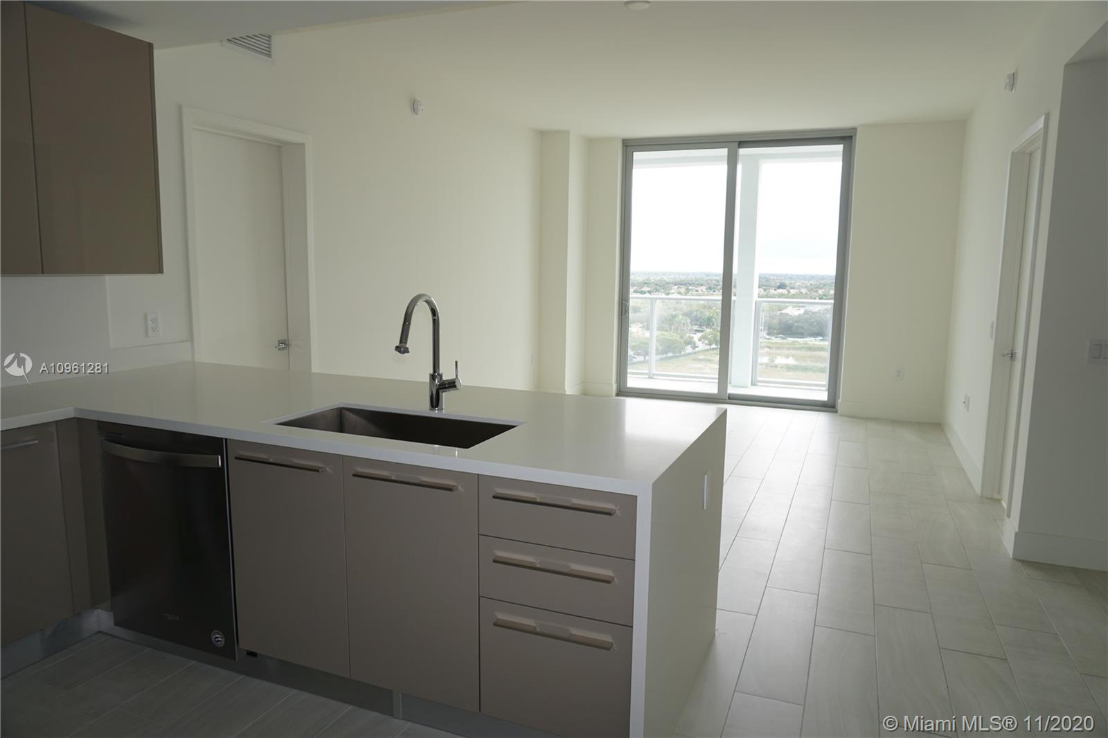 A remarkable new unit in a masterfully planned community. Luxurious living in the Sawgrass Mills area. The unit has a south exposure with incredible views from  inside or balcony area. 2 Bedrooms & 2 baths with a beautiful kitchen area that includes stainless steel appliances. Amenities include: An incredible gym, Sauna, Spa, Kids Play room, Theater, Business room and Infinity pool to help you relax.  2  covered garage. This is a MUST SEE unit ready to move in!