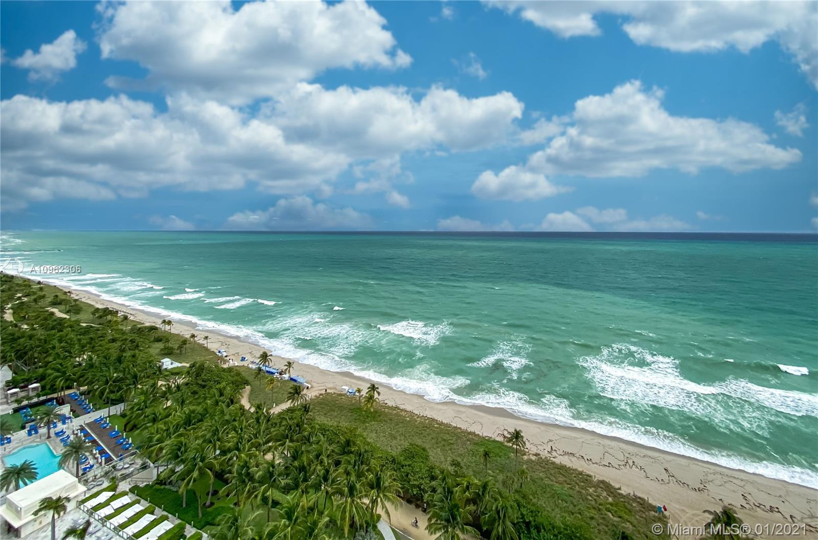Wake up and see the ocean from this gorgeous luxury apartment  with private elevator access in prestigious Bal Harbour. The entry leads you into an open living space and immediately treats you and your guests to a breathtaking view. The floor plan is comfortable and spacious, with inviting floor-to-ceiling windows and sliding doors that lead to a wraparound terrace. The Majestic is sought after for its prime location and top-of-the-line amenities, including a spa, gym, gourmet restaurant, beach service, valet, security, and more. This elegant 3,400 sq. ft. unit is angled perfectly to maximize every view of the ocean's rolling waves. Please see Property Video and 3D Matterport Video.