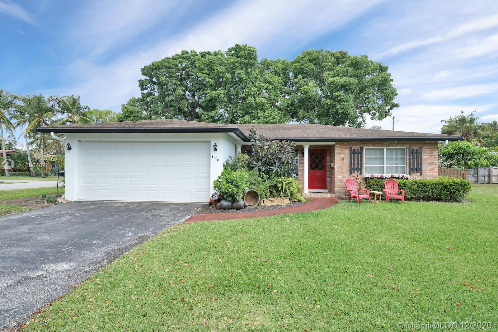 BEAUTIFUL 4 bedroom 2 bathroom home located on a private cul-de-sac in the desirable community of Sleepy River Acres! Large driveway and 2 car garage! As soon as you enter you are greeted by natural light and an open floor plan! This home features a split bedroom layout. Tile flooring throughout. The kitchen has been remodeled with wood cabinets, granite countertops, upgraded backsplash and stainless steel appliances. Enjoy tranquil water views from your front yard! Excellent location near major highways, beaches, restaurants, shopping and more!