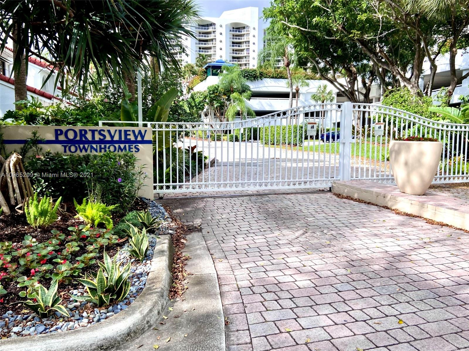 Rarely on the market. Immaculate landscaped 2 Bedroom + Den and 2.5 Bath waterfront townhome overlooking Waterways Marina in a desirable private gated community with direct marina access. Featuring open concept living and dining area, contemporary kitchen, oversized Master Bedroom suite with large walk-in closet, skylights. Garage converted to den. Enjoy the serene water views from your main floor, large private screened-in patio looking directly to the marina, and 2nd floor balcony overlooking the yachts cruising by. Community amenities include lighted tennis courts, 2 lavish pools, 24/7 security. Walk to restaurants, post office, and supermarket. Perfect for a growing family. Desirable A+ Schools and parks. NOTE: 55 to 120 FEET boat slips are available for purchases.