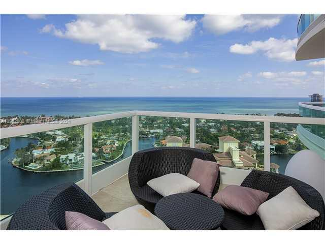 Enjoy panoramic views of the Intracoastal and Ocean that will take your breath away. This stunning residence is located in the North Tower of Porto Vita, a premier gated community on Florida's famed Intracoastal Waterway. You will find top quality finishes and luxury custom features in this 27th floor, 5 bedroom, 6 full bathroom and 1 half bathroom residence including fine marble and hardwood floors, built-ins, lighting fixtures and elegant moldings. Featuring 5,792 square feet, the open floor plan with floor-to-ceiling glass windows creates a relaxing atmosphere and beautiful place to entertain. Enjoy a 5 Star resort lifestyle with Tennis complex, Fitness and Spa Center, Fine Dining Restaurants and Bars, Tot Playground, Pool side services and attendants.