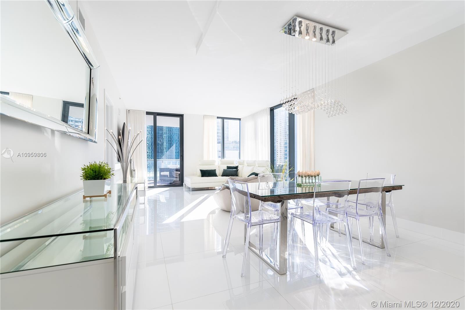 SPECTACULAR BRAND NEW BUILDING IN BRICKELL, WALKING DISTANCE TO BRICKELL CITY CENTER.