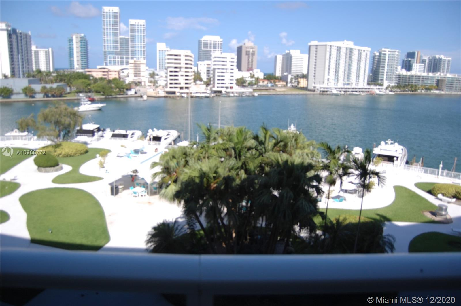 DIRECT Panoramic Waterfront Views from this Spectacular, Modern, Turnkey, Renovated, Waterfront Large 1 Bedroom (1,075 sq ft) with very large balcony with great views south and east. Even numbered units have the best views and face South. Overlooking Intracoastal, Allison Island, La Gorce Island and Miami Beach. Large Closets, Floor-to-ceiling windows, Flat Screen TV's in Living Room and Bedroom.  Maintenance includes Electric, A/C, Cable, Internet, WiFi, Water and All Amenities. Full Amenity Building with Olympic Size Heated Pool, Gym, 24/7 Security, Doorman..Historic MIMO architecture. One parking space is included. Pet friendly building allows up to 30 pounds. Walking distance to beach, restaurants, supermarkets, and shops.