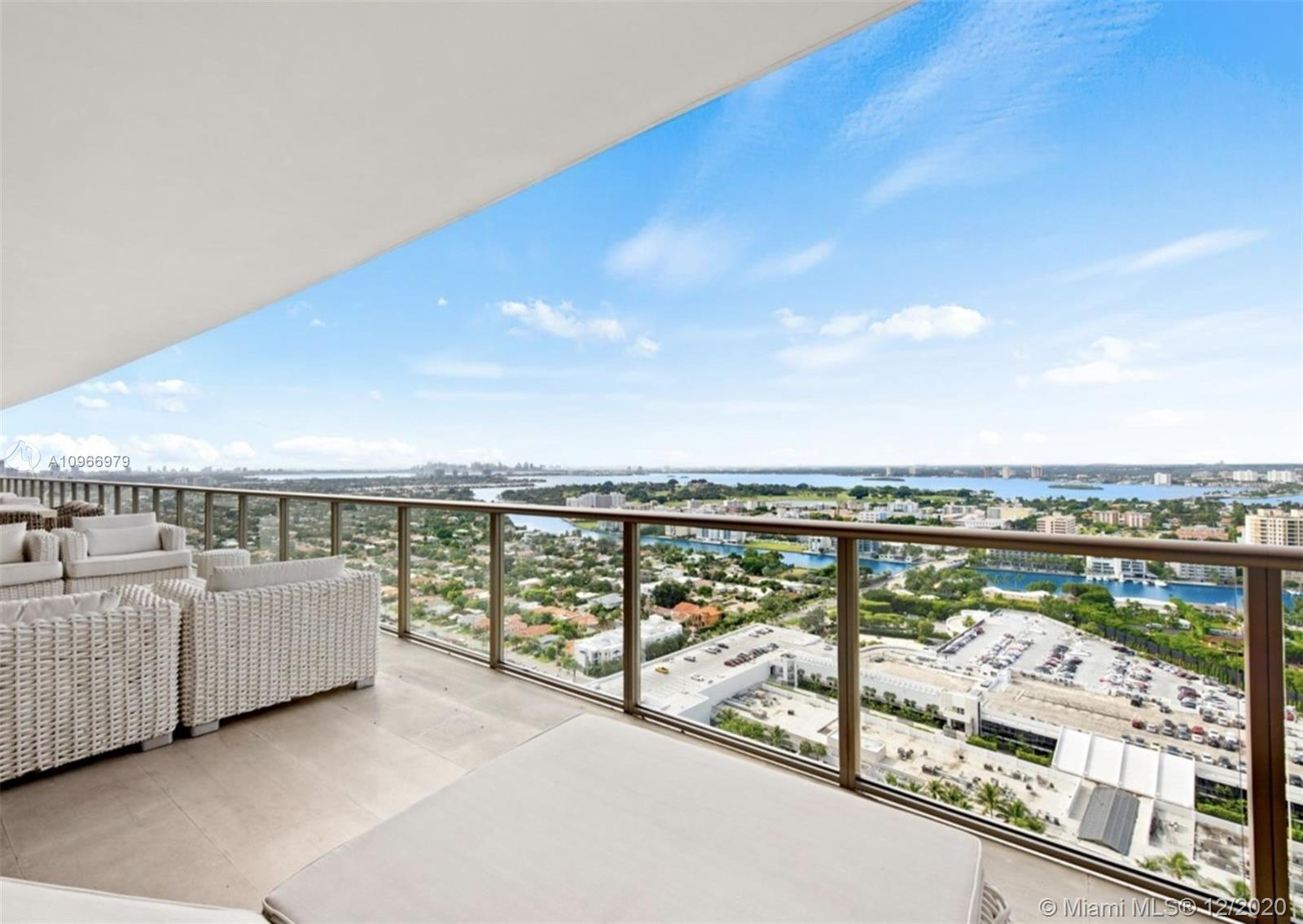 Unique opportunity to own this Penthouse Mansion on the sky at the St. Regis Bal Harbour. Two units combined; 2702 & 2703. Located directly on the ocean with breathtaking views of the Atlantic and across from the renowned Bal Harbour Shops. This penthouse boasts five bedroom suites with two master bedrooms, custom finishes and furnishings and nearly 100 ft of continuous balcony on the east and west sides of the unit, PH 02/03 is ideal for large families and as spectacular as the view it commands. Live above it all! see broker remarks for sq.ft.