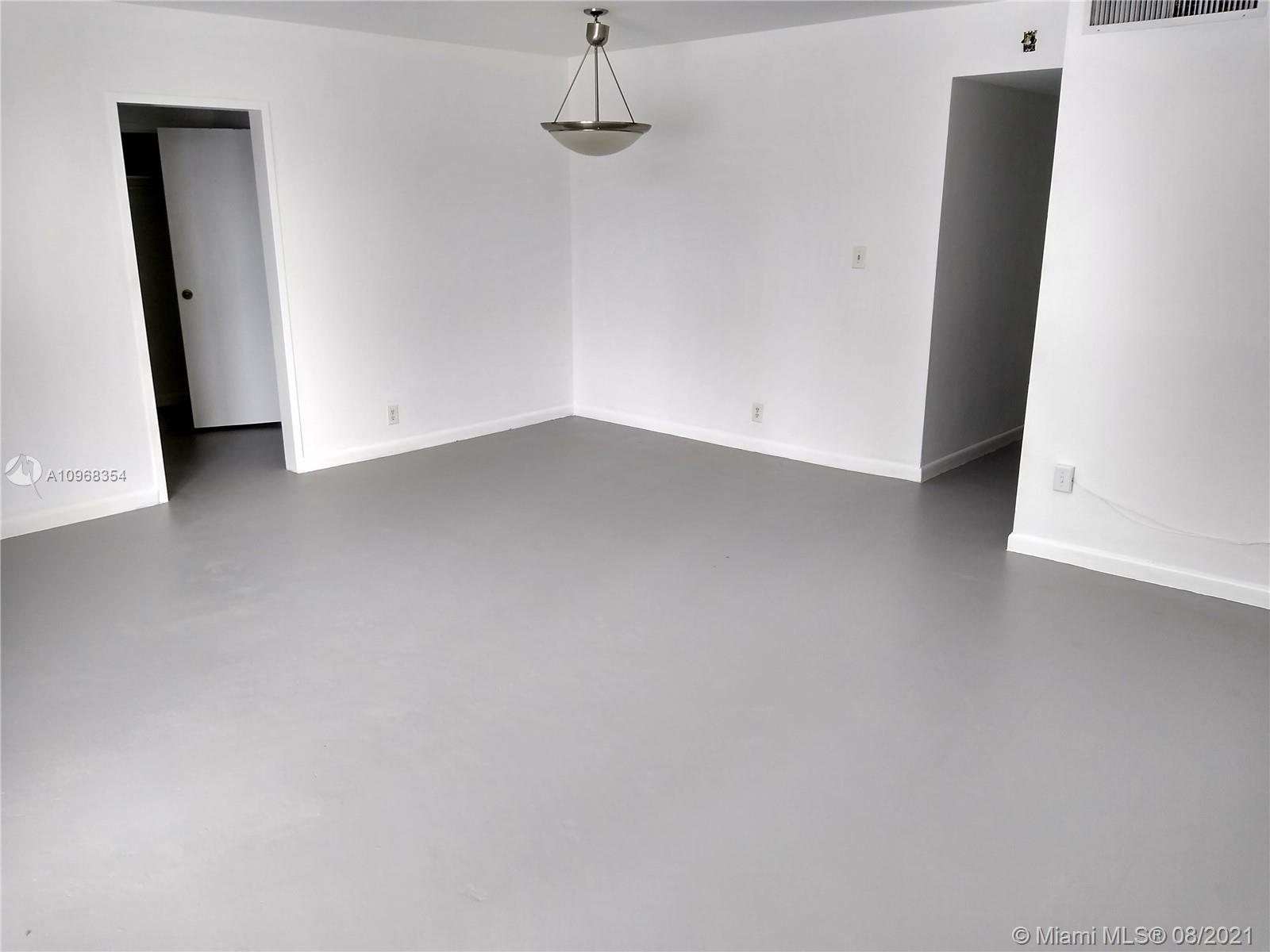 Large 663 sq foot studio at Mirador South Tower. Included in lease price are all amenities- pool, gym, high speed cable & internet. Valet or monthly parking available starting at $65. Second floor, No balcony faces East. Carpet flooring.