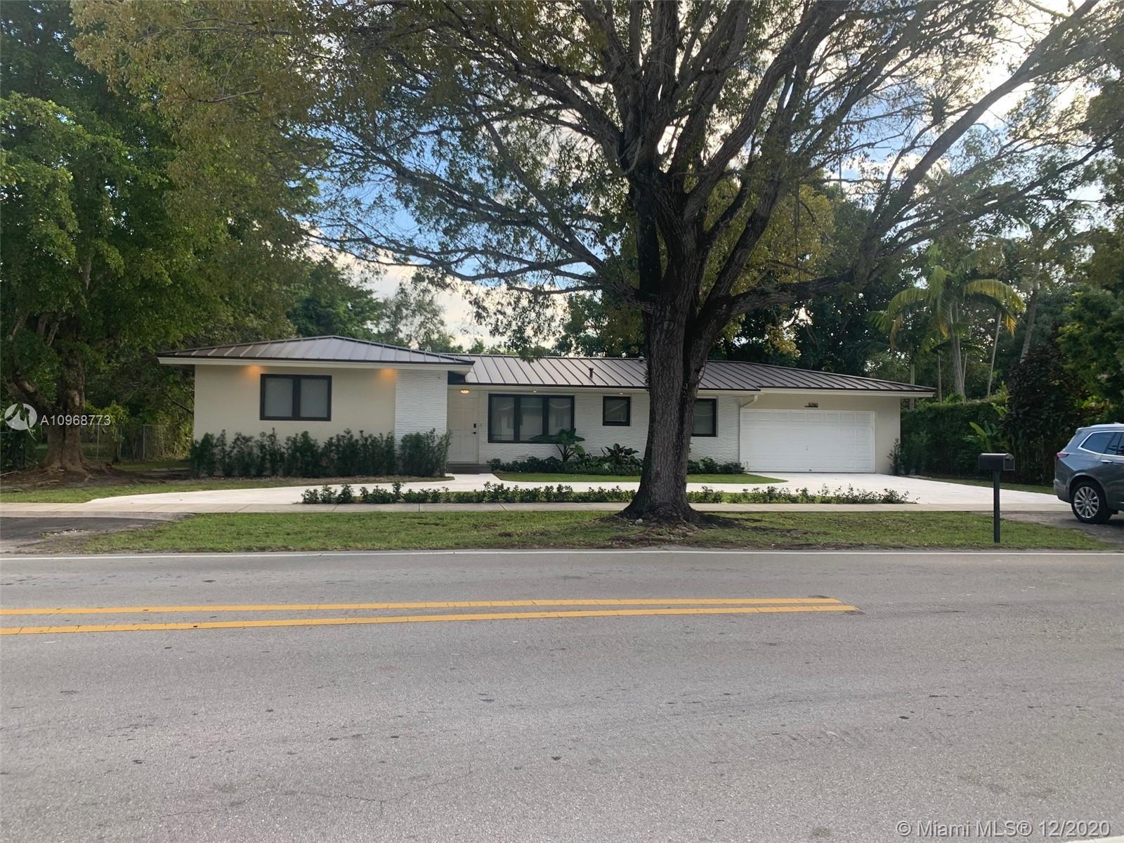Lot 15,600 sq ft (Largest lot on the block ) House: 3057 sq ft, Private Access to Dison park, 2.5 Car Garage, 4 Bed, 3 Full bath, Impact Windows, Blackout shades, Metal Roof, New 4 Ton Ac, Original Terrazzo Floors & Oak Wood, Remodeled Completely, Bosch Kitchen Appliances, Plenty of Room for Pool or addition, New Sub panel Prepared Prepped for a double laundry, A list schools District, Prime Location& Neighborhood. Weekends appointments only with proof of Financial Qualification's.The square footage of lot in this property is not correct on public records. It will show corrected on 2021.