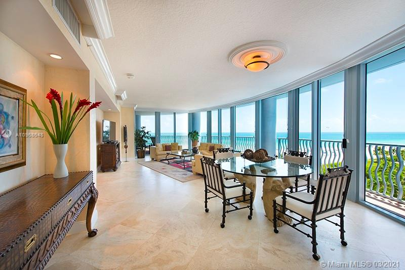 Enjoy gorgeous views of the Atlantic Ocean in this SE corner residence. This unique home is located in 1500 Ocean Drive which was designed by one of the postmodern architect founders, Michael Graves. Some of the features of this residence are marble floors, granite counters, top of the line appliances and has been tastefully furnished with a designer's eye. 1500 is a full service luxury building with 24 hr. security, valet, front desk specialists, concierge, gym, & private beach.