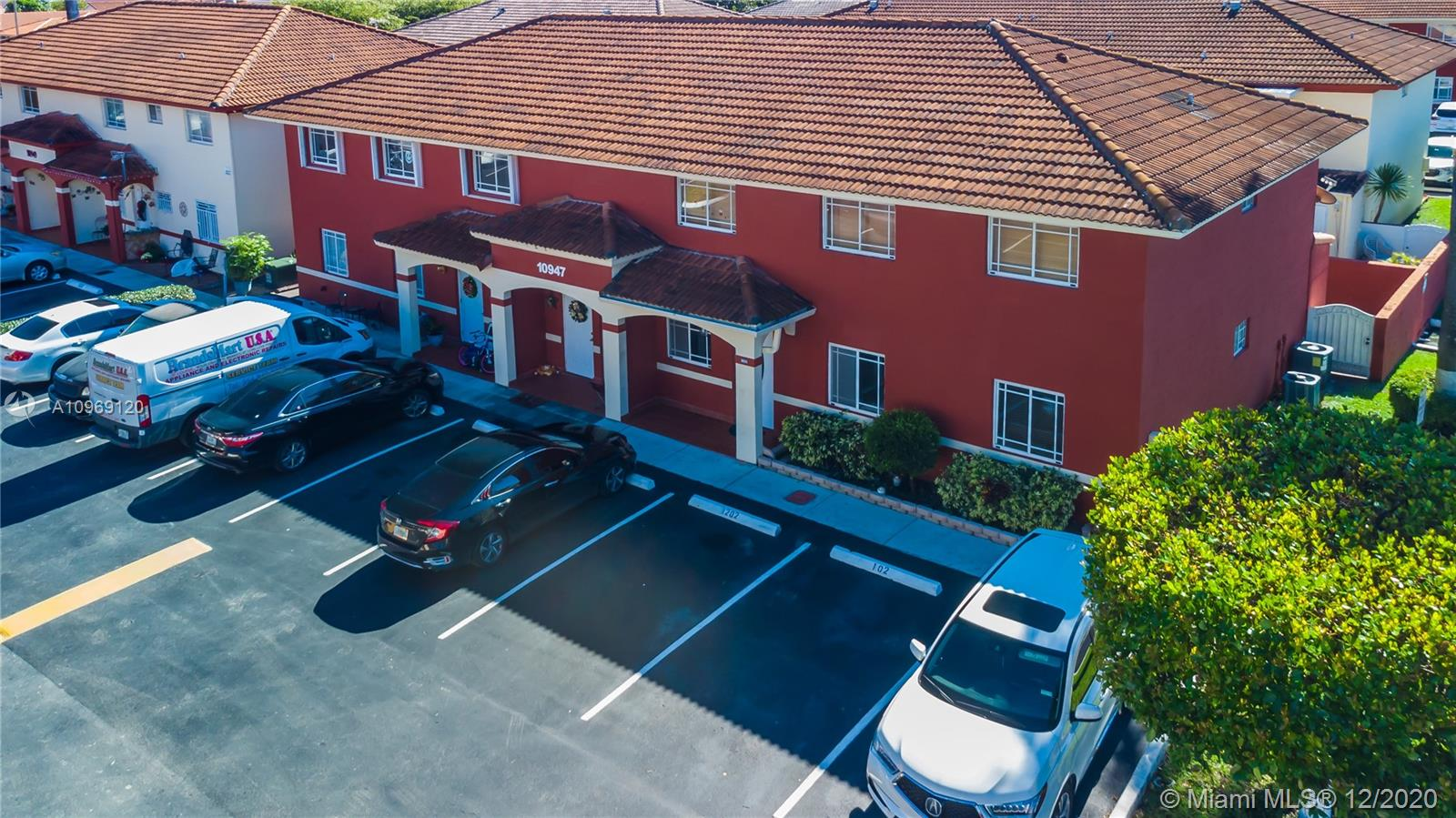 This is a MUST  SEE,  great location and  great opportunity. A wonderful condo located in the heart of Hialeah Gardens. This condo is listed as 2 bedrooms/ 2 bathrooms in the county, but it's actually 3 bedrooms/ 2 bathrooms. Excellent size back yard for entertainment and gatherings. The unit has more than enough space for any family big or small. Come see for yourself and make this your forever home. Right next to Okeechobee RD, FL Turnpike, and 826.
