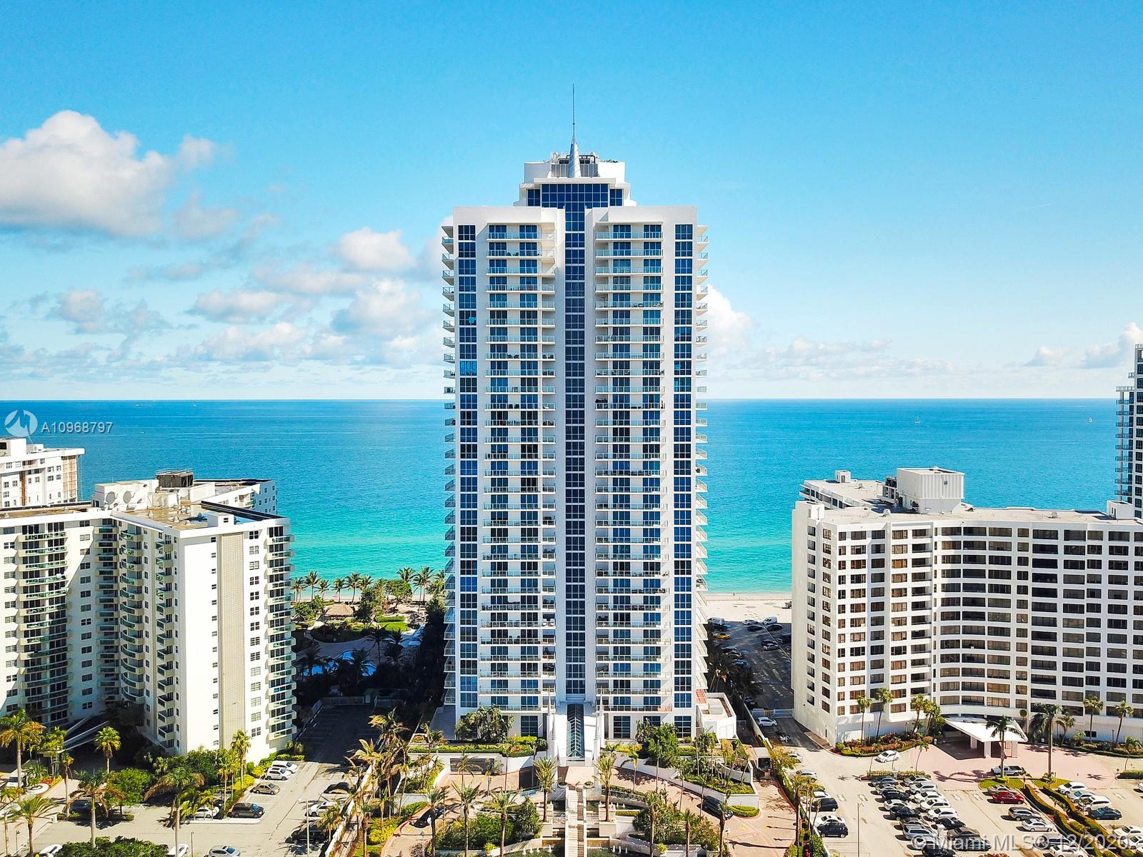 OUTSTANDING UNIT IN OCEAN PALMS. PRIVATE ELEVATORS TAKE YOU TO THE 26TH FLOOR WITH UNOBSTRUCTED VIEWS OF OCEAN, SKYLINE AND CITY.  MARBLE FLOORS THROUGHOUT, OPEN BAR,  LARGE KITCHEN WITH ISLAND, SUBZERO, THERMADOR AND MIELE APPLIANCES. UNIT HAS CUSTOM DAYORIS DOORS, ARMADA BUILT INS, NEW BLACKOUTS, AND A NEW GLASS SINGLE DOOR WAS JUST INSTALLED AT THE ENTRANCE. LAUNDRY ROOM. TWO AC UNITS. MANY UPGRADES THROUGHOUT. EACH OF THE THREE BEDROOMS HAVE IN SUITE BATHS. THREE BALCONIES. AMENITIES TO ENJOY: OUTDOOR BBQ AREA, POOL AND HOT TUB, TENNIS COURT, BASKETBALL, BILLIARDS ROOM, MEDIA ROOM, CLUBROOM, BUSINESS CENTER, TWO STORIES FITNESS CENTER. POOL AND BEACH SERVICE. MANAGEMENT OFFICE, SECURITY, DOORMAN, VALET. CLOSE TO FORT LAUDERDALE AIRPORT, AVENTURA MALL, RESTAURANTS AND SHOPPING PLAZAS.