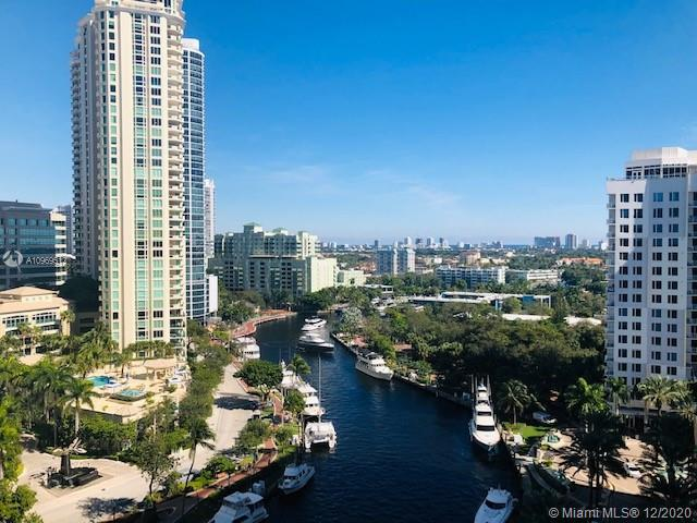 Beautiful 3 bedroom in Fort Lauderdale's Nu River Landing. Directly on the rive this unit features amazing river, skyline and ocean views. Expansive and open living area is great for entertaining. This unit comes with a PRIVATE and HIGHLY SOUGHT AFTER storage room located on the same floor. Amazing amenities including a jaw dropping roof top pool. Freshly painted with brand new carpet this unit is ready to go!