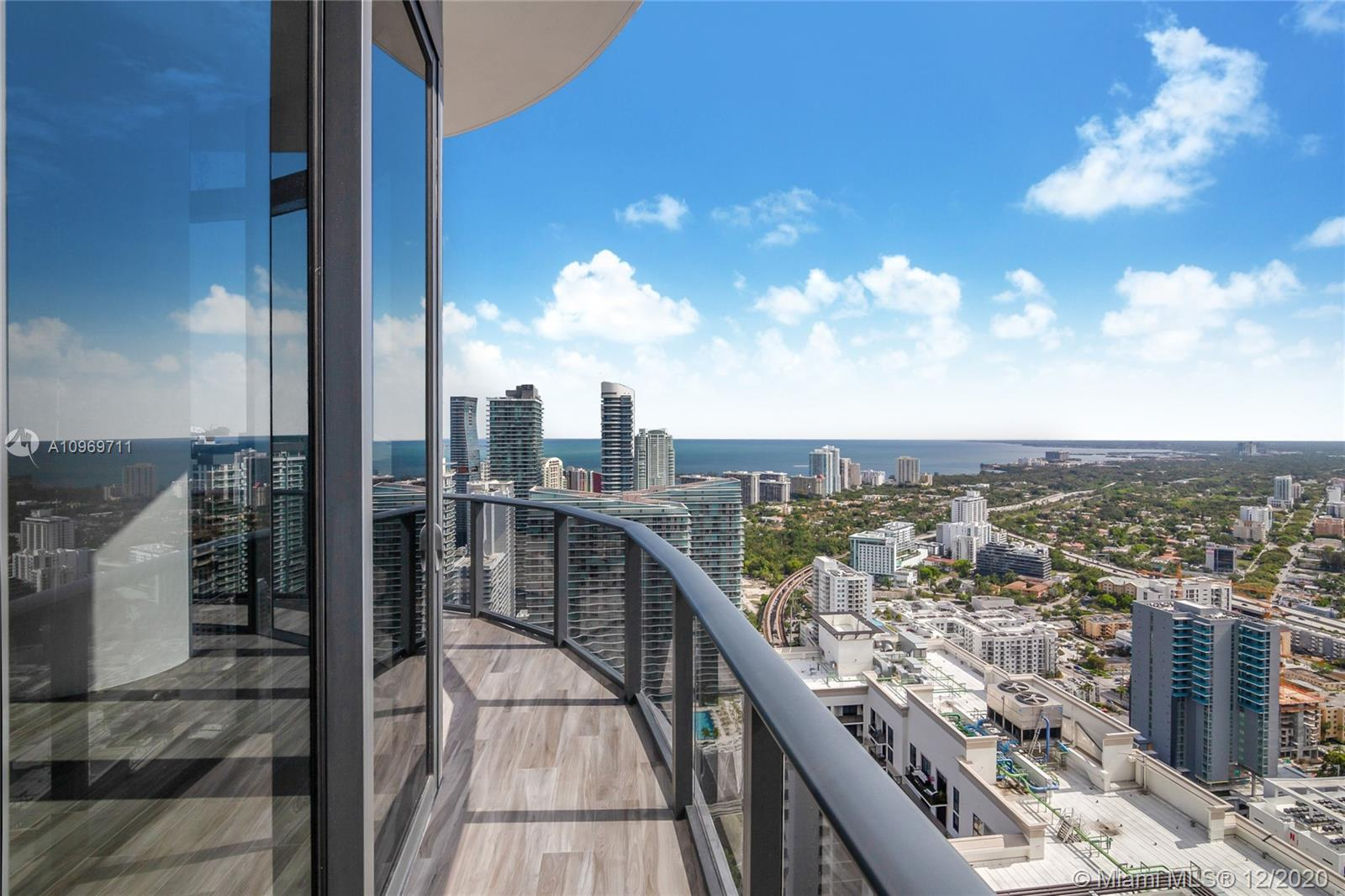 Best 4-bed Penthouse value in Brickell! Stunning top floor/upper level 4bed/4bath 2,366 sq. ft. luxury Penthouse at Brickell Heights. Only unit with double door entry. Large wraparound balcony with 14 Ft High Ceiling in living area, floor to ceiling glass, upgraded floors, and spectacular open city and south facing bay views. 5-star amenities include on site Equinox fitness, billiards room, rooftop pool, business center. modern and sleek lobby, and a 6,000 sq. ft. clubhouse. This unit will not disappoint!