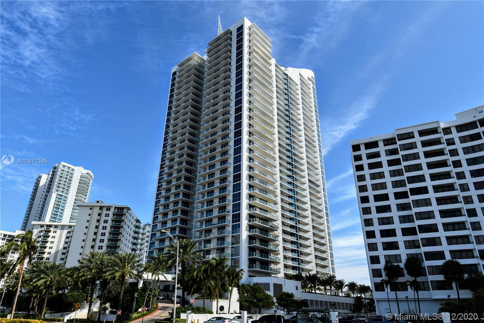 3 Bedrooms, 4.5 Bathrooms. Three oceanfront balconies offer sweeping direct ocean views. High end appliances and finishes. Private elevator opens to panoramic views of the ocean. Motorized shades, Sonos Sound System on all bedrooms and living space. Great size bedrooms. Beautiful Master Suite with double vanity in Bathroom, large Jacuzzi Style Tub and Separate Glass Rain-Shower. Walk-In closets on all Bedrooms with built in shelving. A 4th Bedroom can easily be created. Building includes resort style pool and spa, state of the art fitness center, tennis court, private theatre, outdoor summer kitchens, valet parking, beach and pool towel and chair service, club and billiard rooms all which are professionally maintained and recently renovated. Seller Financing Might be available.
