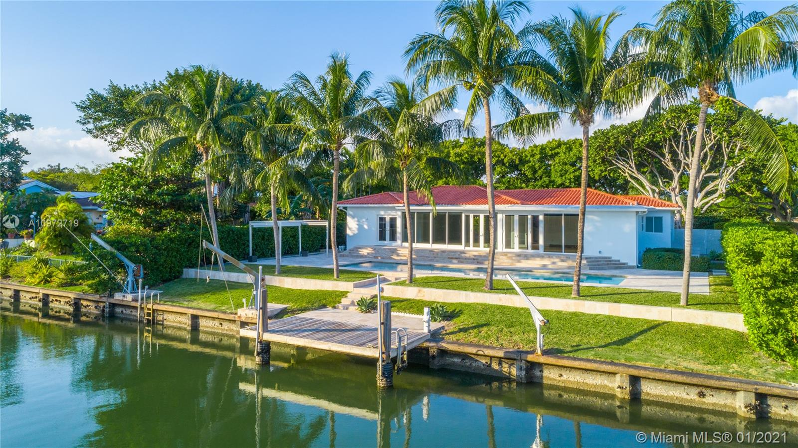 Stunning 3-bed/3-bath home available in Bay Point, an exclusive, gated community in the heart of Miami. Enjoy breathtaking water views in your saltwater pool from a backyard equipped perfectly for entertaining and enjoying the South Florida weather. Sparing no detail, this one-of-a-kind home comes with recent upgrades such as a brand new A/C and pool heater. With private roads patrolled 24/7 by security, Bay Point guarantees safety like none other. Conveniently located near Miami's best private schools and just a short drive from the airport. 720 Lake Road is also within proximity to Downtown, South Beach, and Wynwood Design District where you can easily enjoy the Miami lifestyle and all of its world-class entertainment, dining, and cultural destinations.