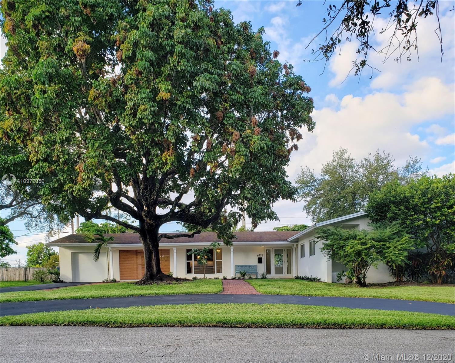 COMPLETELY REMODELED & MOVE-IN READY! 5 bed/3 bath meticulously renovated Jennings-built home on   quiet, no-through street in So. Miami's Ludlam Trail/St. Thomas the Apostle neighborhood. ALL NEW: impact windows/ doors, plumbing, electrical, A/C ducts, kitchen, baths, pool equip., irrigation sys., alarm, landscaping, appliances, & closet systems. A/C is 2 yrs old, roof is 11 yrs old & in great condition. Spacious 12,500 sq ft lot w/ mature trees & fenced backyard w/ direct yet private access to So. Miami's expansive Palmer Park & playground. Located w/in 10 MINUTES OR LESS to 3 hospitals, the much-anticipated Ludlam Trail, highly-rated schools, the Univ. of Miami, city centers of South Miami & Coral Gables, parks, premier shopping, expressways. Showings by appt. Listed by Agent/Owner.