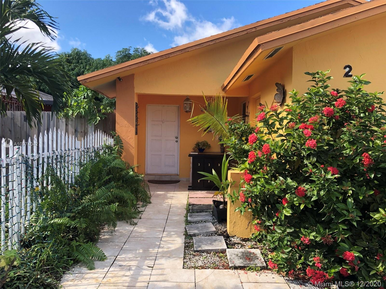 Come and see this property, a good opportunity that will not last in the market due to the attractive income it generates; Perfect for first time buyers or to invest, the property has two rented efficiencies. Two miles from Caribeam Blvd. near schools, shops, mall and highways. Without Association. Property is being sold AS IS, owner-occupied. Request the appointment 24 hours in advance.  All offer must accompany prof of funds or  loan DU.