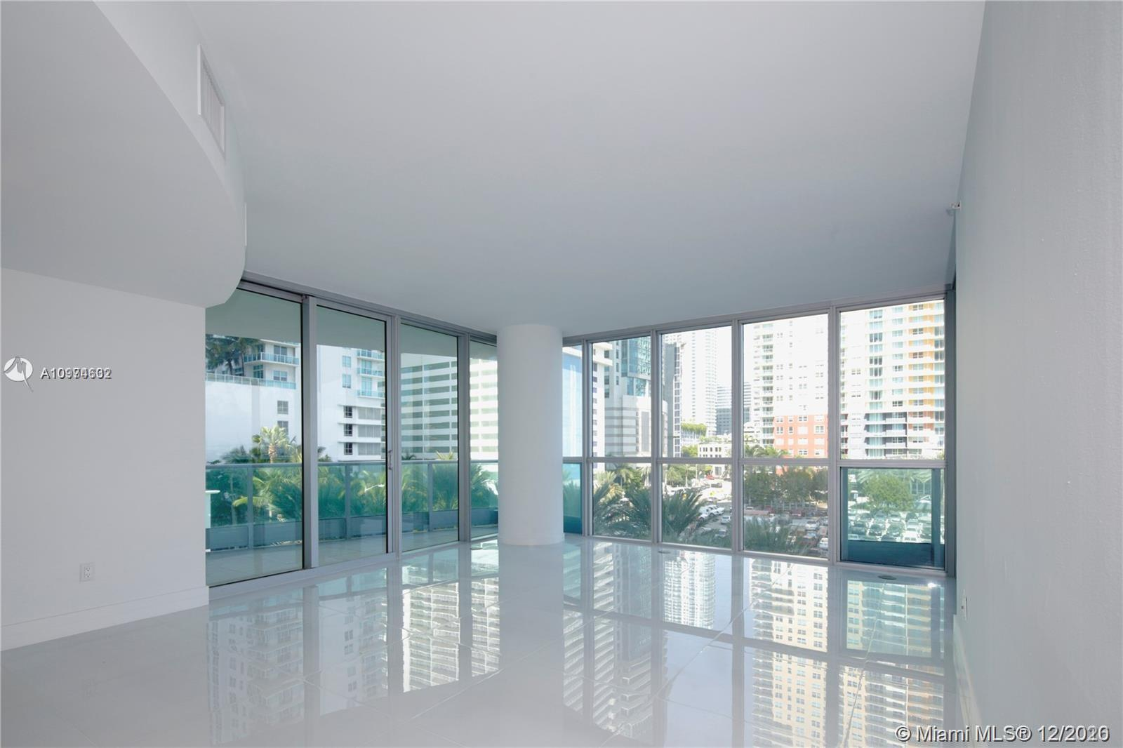 Exclusive luxury apartment in the heart of Brickell district. City & Bay views. 9'high ceilings. New porcelain & marble floors throughout the unit. New Kitchen w/ top-of-the-line appliances, custom cabinets and arabescato marble counters. Beautiful master bath w/spa tub & separate shower. Outstanding amenities include 24 hour concierge & valet, rooftop sky-lounge w/breathtaking bay & ocean view, health spa w/sauna, steam room, infinity water pool, kids' pool, fitness & business center & restaurant. RENTED UNTIL JULY 31 @ 3,600. EXCELLENT CHOICE FOR INVESTOR - NO VACANCY GAP.