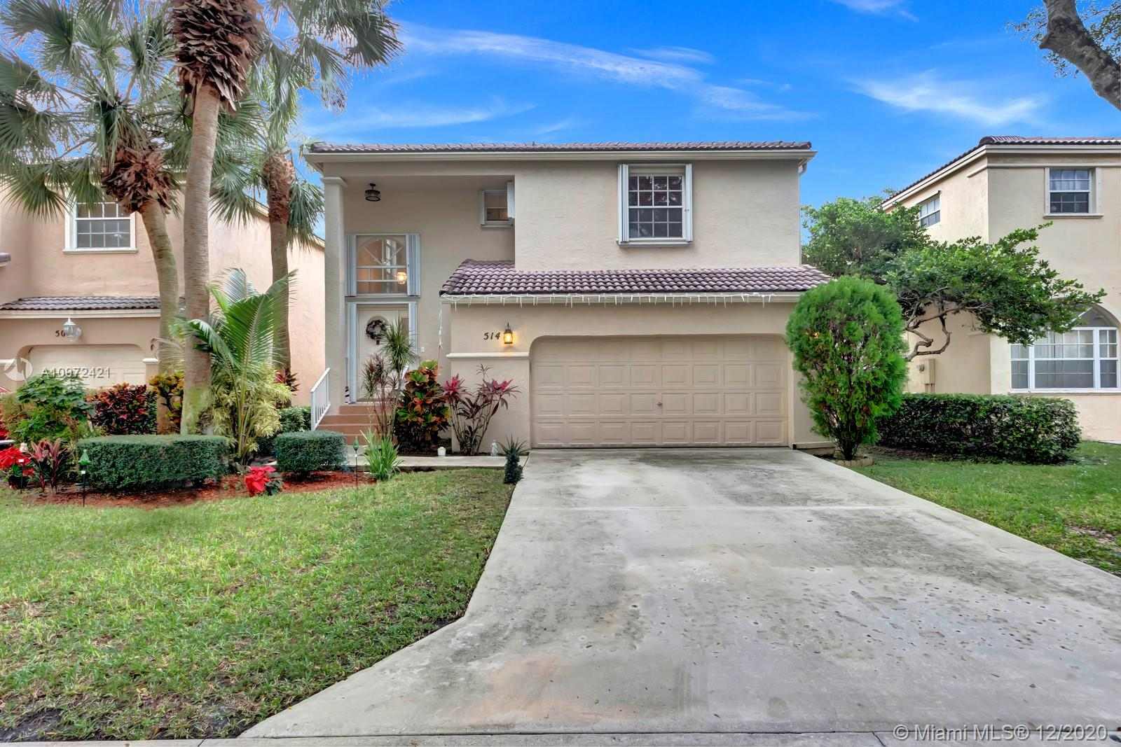 Take advantage of this rare opportunity at Governors Walk, Ramblewood South! This home has one of the largest  yards in the community and is exceptionally convenient to everything from great schools, malls, gas stations, golf courses, highly rated dining, sawgrass expressway, and much more. Zip down Atlantic Ave going East for a beach day! Enjoy the large foyer, two car garage, three bedrooms, and two and a half bathrooms. The back yard is ready for you to make your own and is more than large enough to add a pool, or stroll over to the residential pool!