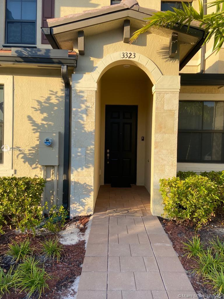Welcome home to this new townhome in west Hialeah off i75. Beautifully appointed villa with your own washer/dryer and open kitchen lay out. Private fenced in back yard is perfect for pets. Tile on your first floor and soft carpet upstairs, smart home technology including Thermostat. Brand new community with swimming pool, exercise room, and club house. Excellent school district and tons of shopping and restaurants ins the area. Schedule your appointment today!