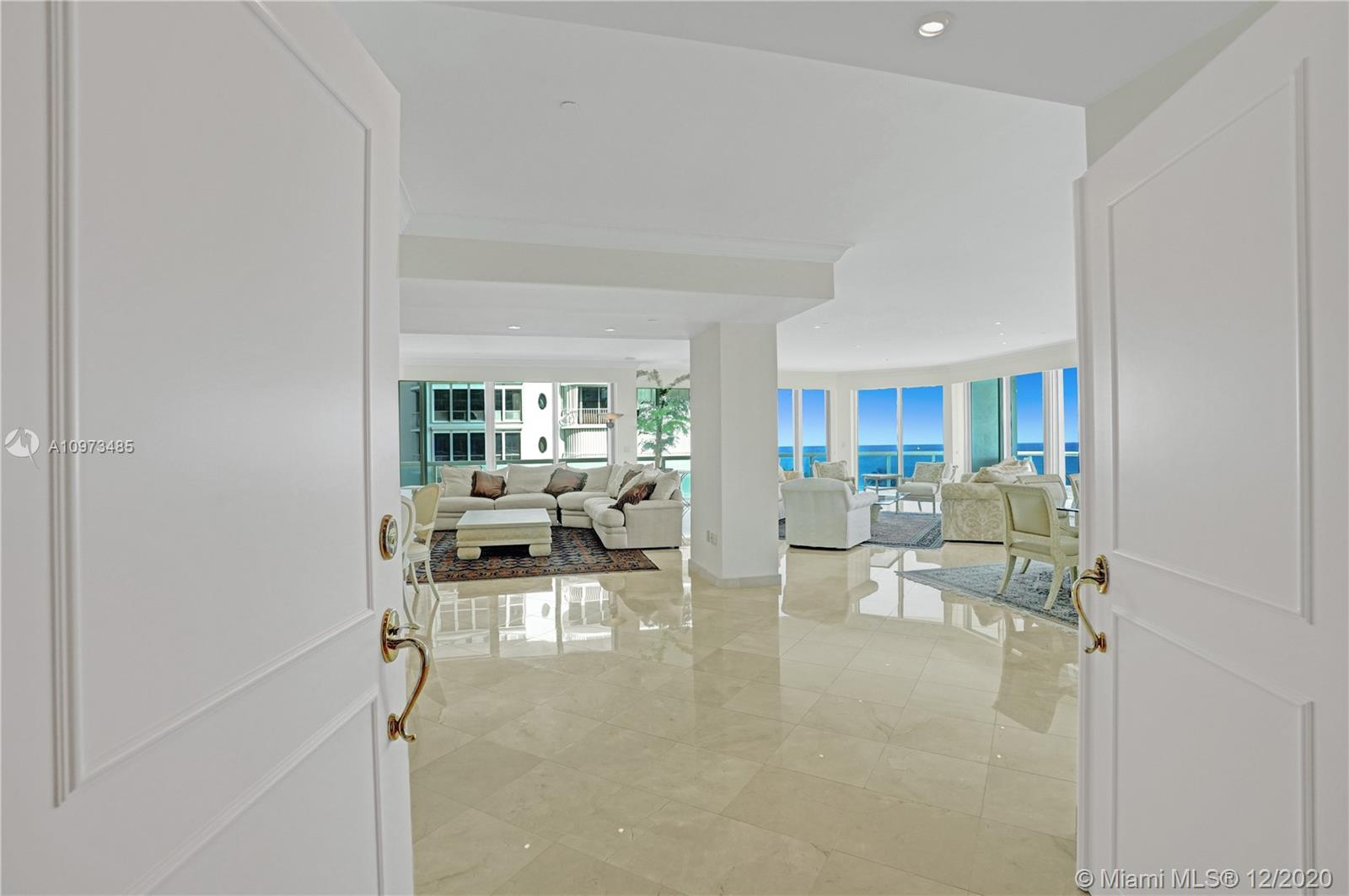 The property has been rented for 1 year Starting Feb. 14th, 2021.Fabulous oversized apartment at The Palace in the heart of Bal Harbour. Minutes from Harding Ave, where you can find any restaurant to satisfy your appetite, shops, and homes of worship. Steps away are the famous Bal Harbour Shops, and just down the street is Kane Concourse. OF COURSE, the beach is just a breath away. This spacious residence has been freshly painted and left ready to move in. Magnificent views of the ocean will wake you up in the mornings and greet you when you come home from your daily routine. The Palace offers incredible amenities: Poolside and dining restaurant, spa, gym, tennis court, card room, party room, and more. Whatever your needs, you will find them here. Three Bedroom Plus Housekeeper quarters.