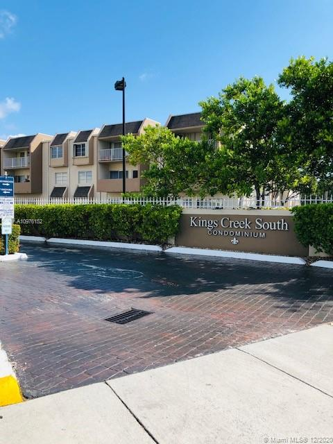 Largest 2 bedroom 2 bath has been recently updated.  Tile floors throughout 1200 square feet of living space located in best part of complex, private corner unit with great views from all windows. New bath in master suite. 24 hour security  with on site management. clubhouse with  activity room for meetings  and parties. Clay tennis courts, 2 pools, gym, whirlpool-spa for relaxation. Close to all major expressways, Dadeland Mall for shopping.  Safe and well cared for community with ample parking.