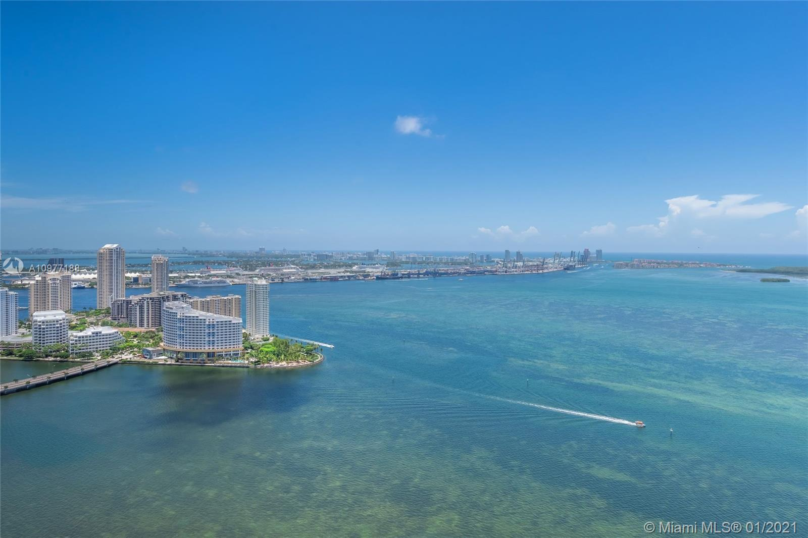 Miami  Future Home , Enjoy this Direct Water view from the 30ths floor ,  extraordinary unit S.E Location overlooking the Bay.  A True Residence over 1730 sqft, 2 bedroom + Den, 3 full Bathroom. come and experience owning  this 5 star living at Jade.  Great for investors start receiving income - ***** unit is rented for 2 years started feb 2021