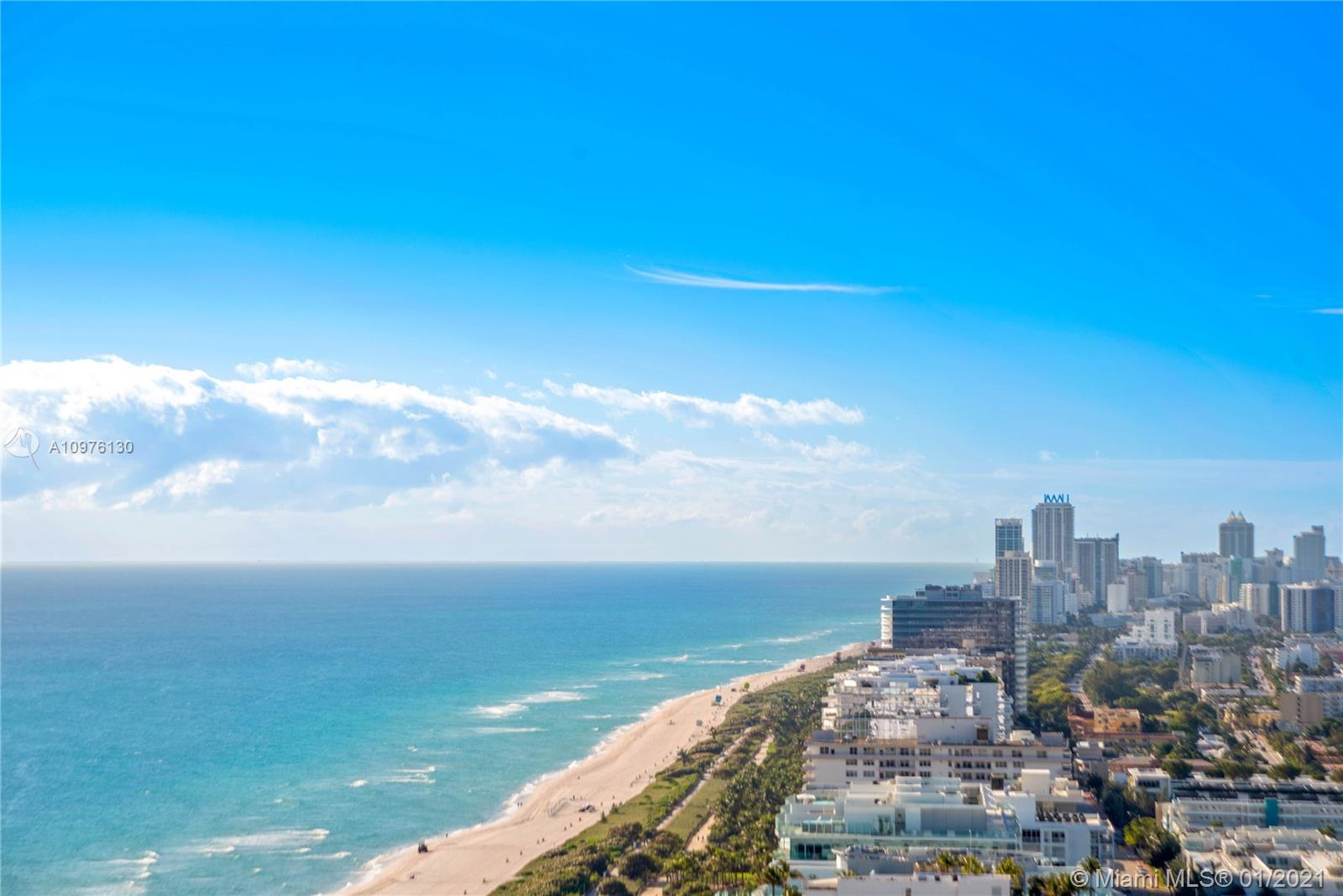 St. Regis Penthouse 8 boasts some of the most amazing ocean and coastline views in all of South Florida. Sit and enjoy the southeast exposure from any of the three balconies. When the elevator stops at the private foyer, step right this tastefully renovated 2 bed + den, condominium that boasts imported silky smooth Italian marble floors throughout, a Crestron smart light and sound system. This home has everything expected from a St. Regis penthouse. Residents enjoy all of the hotel amenities such as cabanas, restaurants, room service, white-glove butler services, and of course, access to the Remede Spa. Residents also have VIP status to all of these amenities, 2-valet parking spots, and a 24-hour concierge.