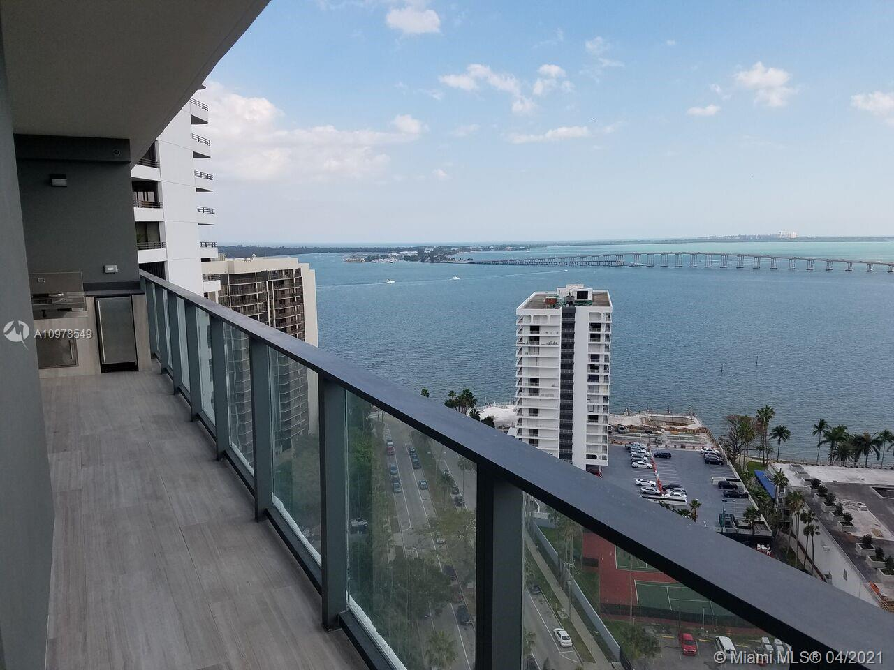 SPECTACULAR OPPORTUNITY TO OWN THIS HIGH END RESIDENCE AT PRESTIGIOUS ECHO BRICKELL BUILDING. 1 BED 1.5 BATHS. TOP OF THE LINE APPLAINCES, HIGH END FINISHES, BUILT IN CLOSETS, BLINDS, LIGHTINING HUGE TERRACE WITH STAINLESS STEEL GRILL! SMART BUILIDNG WITH 5 STAR AMENITIES SUCH AS FITNESS CENTER, OLYMPIC POOLS, HOT TUB, AND MORE! WON'T LAST!