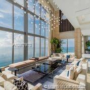 4 BEDROOMS / 6.5 BATHS   9103 SQFT LIVE ON TOP OF THE WORLD , FROM 15' - 30 'CEILINGS , PRIVATE 12' GLASS BOTTOM CANTILEVERED  POOL , FULLY FURNISHED BY LUXURY LIVING FENDI , BENTLEY , 9103 SQFT OF LIVING SPACE , TWO KITCHENS , STONE CLAD WALLS , A MUST SEE, BE APART  OF THE ACQUALINA FAMILY , 3 RESTUARNTS  , TWO POOLS , 20,000 SQFT ESPA