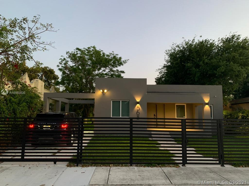 ALL COMPLETE REMODELED HOME, BETTER THAN NEW, INCLUDE TOP OF THE LINE FINISH, ALLN NEW APPLIANCES, ROOF, BATHS, ELECTRIC, PLUMBING, FLOORS ETC. MODERN MINIMALISTIC DESIGN, IMPACT WINDOWS, SMART HOME: LED LIGHTS, SOUND SYSTEM, ALARM, LOCKS, SECURITY VIDEO SYSTEM, AC ETC. 1780 Square Feet