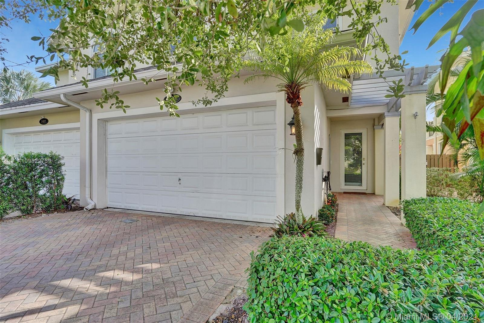 Gorgeous townhome that is not governed by HOA. Modern kitchen and granite breakfast bar open to great room, Entire second floor and winding staircase professionally upgraded Mahogany hardwood with beautiful wrought iron railings. His & Her's walk-in closets in luxurious master suite with spacious sitting area, spa-like bath and balcony overlooking Zen backyard, tranquil fountain and trouble free artificial turf. Half-bath on 1st floor. All Impact Windows & Doors, new AC Property is in process of reroof and remediation for garage so will have a new roof and refreshed garage. Sale of property will require a hold harmless and mold addendum from seller. Garage in process and will be new condition with all drywall and insulation replaced by remediation.