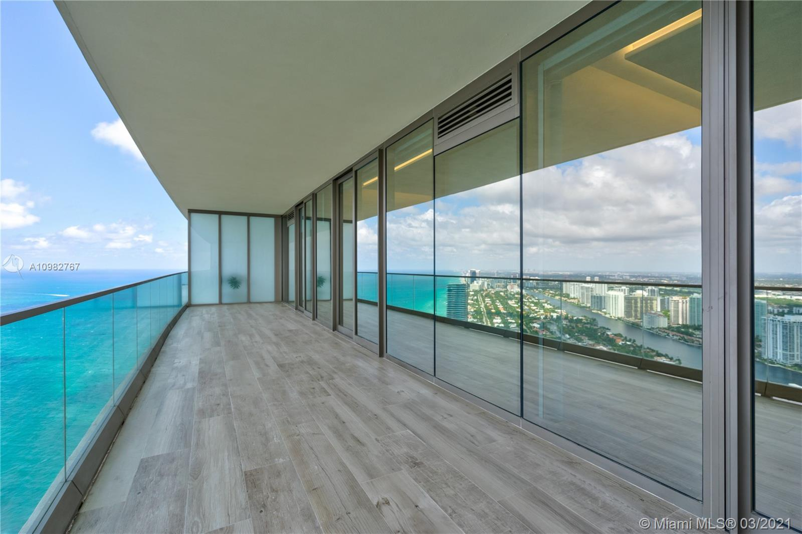 Welcome to the brand new Residences By Armani Casa Miami. This 4 bedrooms, 5.5 bathroom + den flow through residence features floor to ceiling windows, split floor plan, large balconies, summer kitchen and more. Enjoy your unobstructed views of the Atlantic Ocean and sunset views of the Intracoastal. Exceptional amenities and 5 star service which includes oceanfront Pool & Bar, Restaurant, Spa & Fitness Center, Grand Lobby and Bar Lounge, Movie theater, Cigar and Wine Room, Children's play area, Concierge, Security and Valet and more. Unit is rented for one year until March 2022.