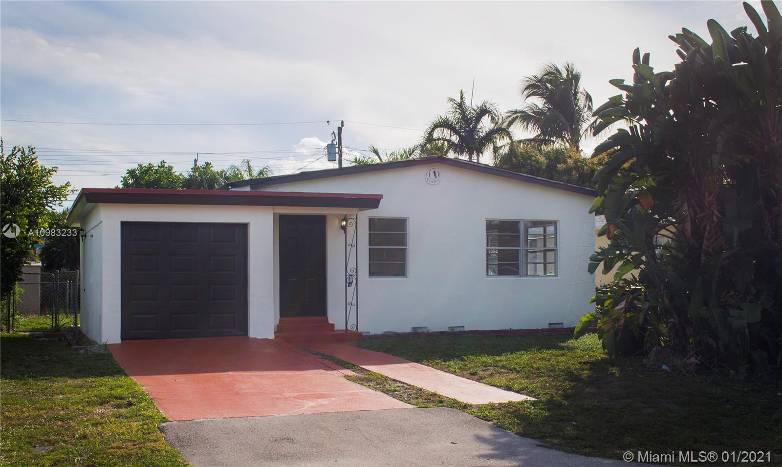 As per seller this beautiful remodeled home has a New roof, New kitchen with wooden cabinets and quartz countertops,  New bathroom, and newly refinished wooden floors and much more. This house is move in ready. sold as is, inspections are welcome.