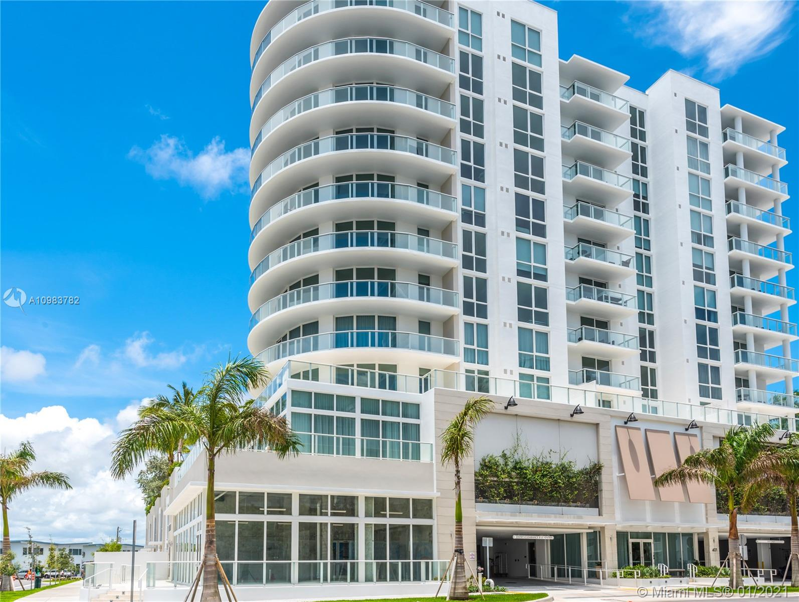 Magnificent newly-built 7th floor SOUTH WEST facing INTRACOASTAL-view condo, 2 bedroom-3 bath, living-dining + den with sofa sleeper, balcony, turn-key completely furnished with Gale Signature package by Now by Steven G, located in sought-after Ft. Lauderdale North Beach Village, one easy block from the beach! Marble flooring throughout, marble bathroom, high-end kitchen appliances with Italian cabinetry, washer/dryer, basic cable/internet/local phone. Current beach service and soon-to-open signature restaurant & hotwl as part of the Gale landmark restoration project. Offering short-term lease (minimum one month) , up to 6-12 months.