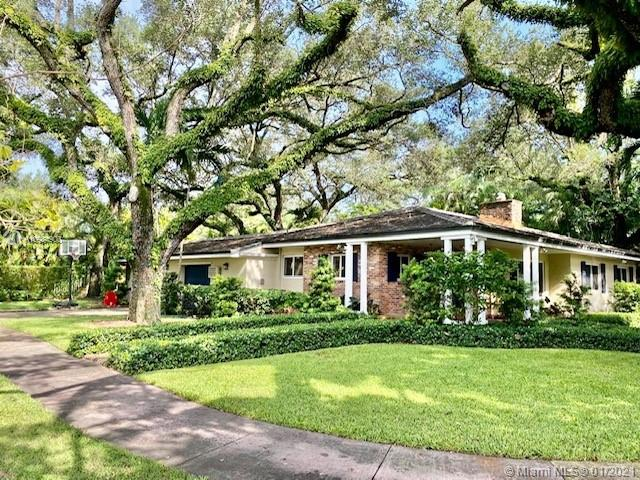 BEAUTIFUL HOUSE IN SOUTH GABLES!!! NEW ROOF, NEW IMPACT WINDOWS, NEW AC, NEW GARDEN at lease  150 K in improvements !!!4 bedrooms, 3 baths, ranch home . Large open floor plan ideal for active families & for entertaining. Majestic Oak trees! Upgrade bathrooms . Title floors throughout , granite counter kitchen , Dramatic living room, fireplace, large family room. Extra Space everywhere!!! Please Call 24 hours before to make an appointment! EASY TO SHOW !!!   The property will begin to remodel on Feb 1 and the price will increase by 200 K!