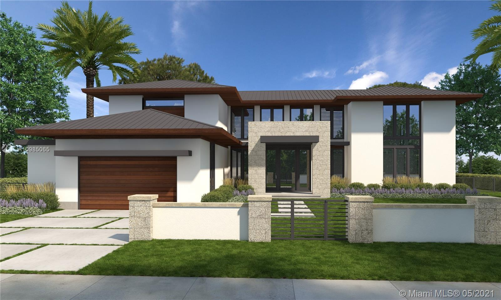 Brand new custom built home on this beautiful and very quiet street in the City of South Miami. Over 8000 square feet of pure luxury on over 22,000 sqft of lot . You can choose the lay out as well as room count and sizes and finishes . Best kept secret when it comes to this secluded neighborhood with amazing oak trees and vegetation and surrounded by multi-million dollar mansions makes this the best place to call home . Please call for more details as well as renderings .
