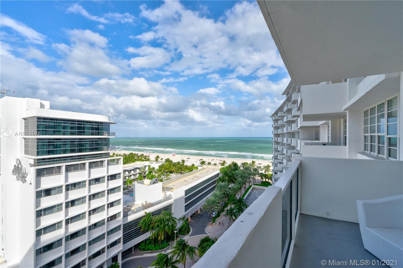 """Amazing Remodeling and Furnished Unit at  Decoplage located in one of the most desirable address at South Beach where Lincoln Road meets the Ocean. This furnished Unit with marble floor has a great Living Room with open balcony and so nice ocean View, Kitchen with top of line appliances, Hurricane Impact Windows, valet parking included in the maintenance and much more. Decoplage Building has a lot of great features like brand new infinity and heated pool, new lobby, nice and equipped Gym, valet parking, concierge and security!! Owner will pay the full Assessment at the Closing! YOU MUST SEE IT!!!"""""""