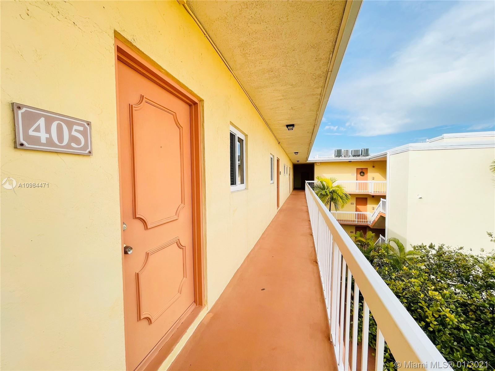 1/1 Condo unit in desirable Village of Kings Creek. Centrally located close to Dadeland Mall, Metro-rail, Baptist Hospital, UM, restaurants and more. Easy access to major highways US-1, 874, 869, Palmetto 826, and Turnpike. The unit is in very well maintained condition. Title and laminated wood floors. Hurricane Impact Windows. Storm Shutters. Plenty of closet space in the hall and there are his and hers closets in spacious bedroom. Enjoy all amenities the community offers: 3 pools, gym, laundry machines on each floor, bbq areas, basketball and tennis courts, for a super low HOA fee. Don't miss this opportunity. Vacant & Easy to Show.