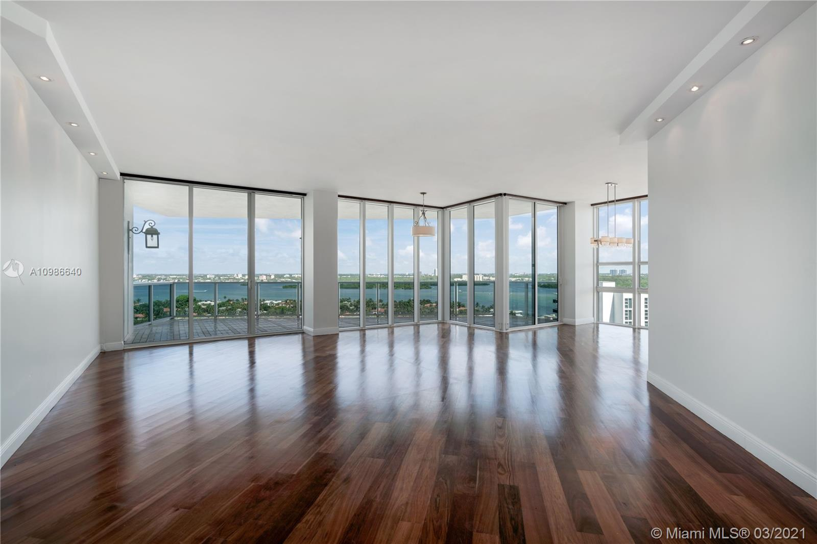 PROPERTY IS AVAILABLE FOR OCCUPANCY ON AUGUST 1ST 2021 HARBOUR-A SHIMMERING LANDMARK OF ELEGANCE RISING ABOVE THE WHITE SANDS OF FLORIDA'S ULTIMATE DESTINATION. SPECTACULAR NORTHEAST CORNER UNIT WITH WRAP AROUND TERRACES. BREATHTAKING, UNOBSTRUCTED VIEWS OF THE ATLANTIC OCEAN, INTRACOASTAL WATERWAY AND CITY. THIS RESIDENCE OFFERS A PRIVATE ELEVATOR FOYER. 2,918 SQ FT OF PURE LUXURY. 4 GENEROUSLY PROPORTIONED BEDROOMS  ROOM, 4 FULL BATHROOMS . MASTERFULLY DESIGNED WITH GREAT ATTENTION TO QUALITY, DETAIL, AND LUXURIES. ELEGANT BUILT-IN CLOSETS, CUSTOM CABINETRY. FINEST WOOD FLOORS AND FIXTURES. LAUNDRY ROOM WITH WASHER AND DRYER. UNFURNISHED. THE LUXURY BELLINI TOWER IS PERFECTLY COMPLEMENTED BY REFINED AMENITIES THAT SURROUND