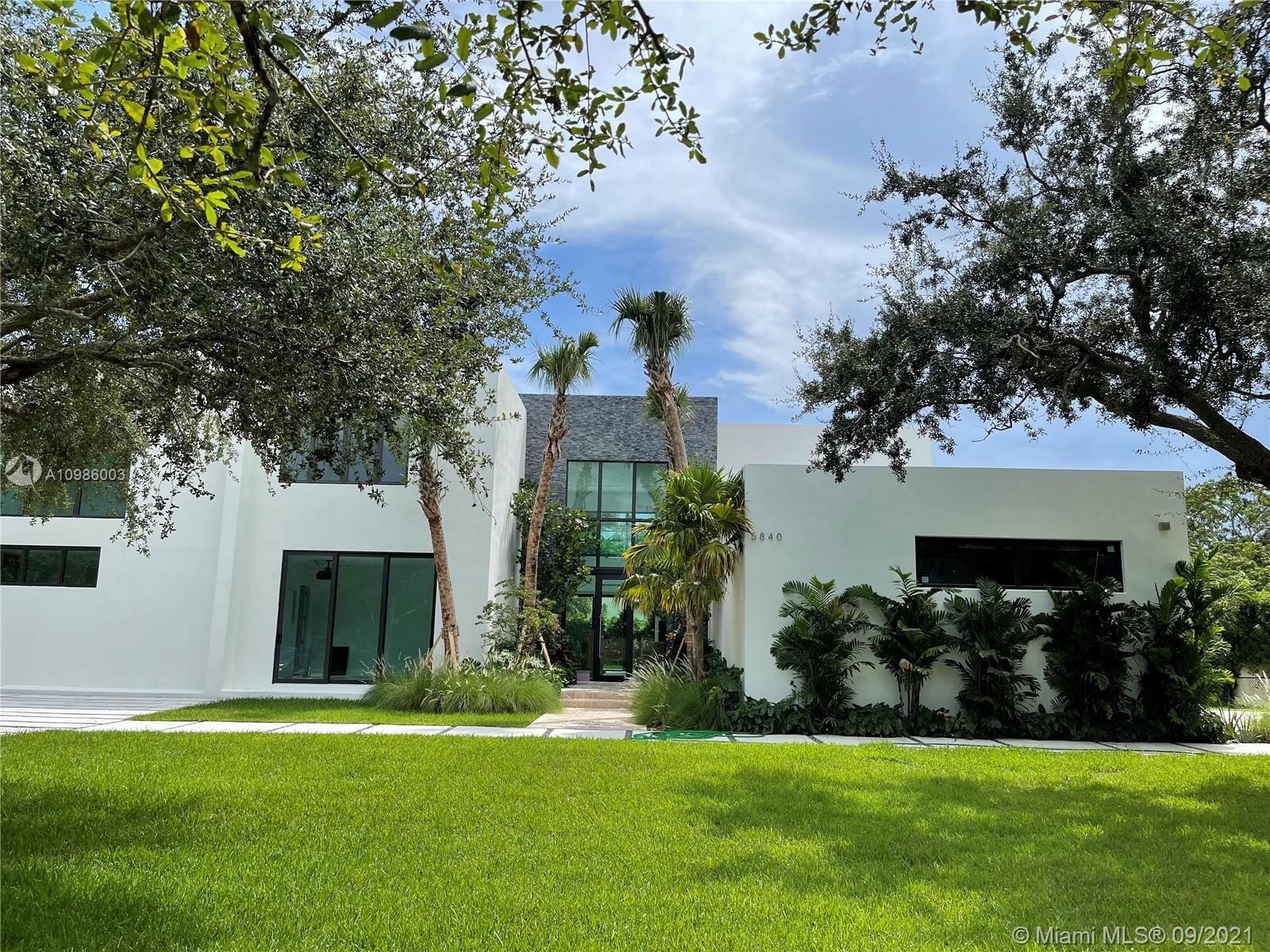 ~ SPECTACULAR CONTEMPORARY MODERN NEW CONSTRUCTION HOME ON QUIET STREET IN PREMIER PINECREST LOCATION ~ 6 BEDROOM / 6.5 BATHROOM WITH BONUS MEDIA ROOM & OFFICE ~ STUNNING ENTRY W/ ULTRA HIGH CEILINGS PROMOTES AN ABUNDANCE OF NATURAL LIGHT WHILE OVERLOOKING POOL & BACKYARD ~ OPEN KITCHEN W/ QUARTZ COUNTERTOPS, SUBZERO & VIKING APPLIANCES INCLUDING GAS COOKTOP OVEN ~ ITALIAN PORCELAIN FLOORS DOWNSTAIRS & WOOD FLOORS UPSTAIRS ~ GORGEOUS UPSTAIRS MASTER SUITE & BATH W/ HIS & HERS WALK-IN CLOSETS ~ UPSTAIRS INCLUDES 3 ADDITIONAL EN SUITE BEDROOMS &  TV AREA ~ CGI IMPACT GLASS WINDOWS & DOORS  ~ AMAZING OVERSIZED POOL ~ 2 COVERED TERRACES PERFECT FOR OUTDOOR ENTERTAINING ~ TOP NOTCH PUBLIC & PRIVATE SCHOOLS IN CLOSE PROXIMITY ~ EXPECTED COMPLETION APRIL 2021 ~