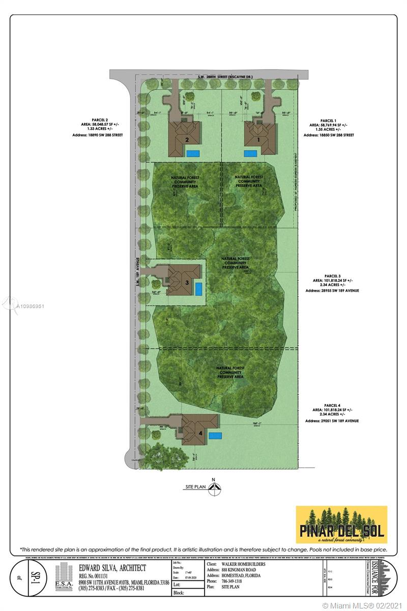 Approximately 2.25 acres of residential land available to build 1 home.  This beautiful wooded area is part of a protected pine tree preserve.  This lot will be located at the end of the street on a cul-de-sac and is absolutely perfect for a Buyer looking for total privacy!  Builder already has plans approved at county.  All buyer needs to do is pay and pick up.  Builder is in the process of putting in paved road.  This lot will have well water and will require buyer to install septic tank when they decide to build.