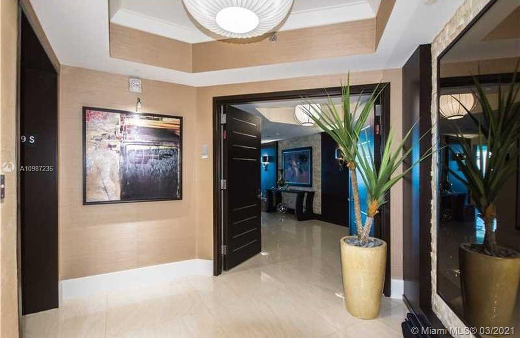 Trump Hollywood spectacular 3 bedrooms and 3. 5 bathrooms with direct ocean view and intracoastal view. Come live in paradise!! Great value completely furnished unit in Trump Hollywood, absolutely gorgeous views to ocean and intracoastal with stoning sunsets. This is a smart home with the last technology in sound, tv, lights, shadows and air conditioner. Furnished and decorated by the prestigious Steven G. Private elevators for your comfort and privacy. Has lot of upgrades compare with original unit, come to see the differences. This building have a 24 hs. concierge service and five star amenities. The best unit in Trump Hollywood, come to see it!!.