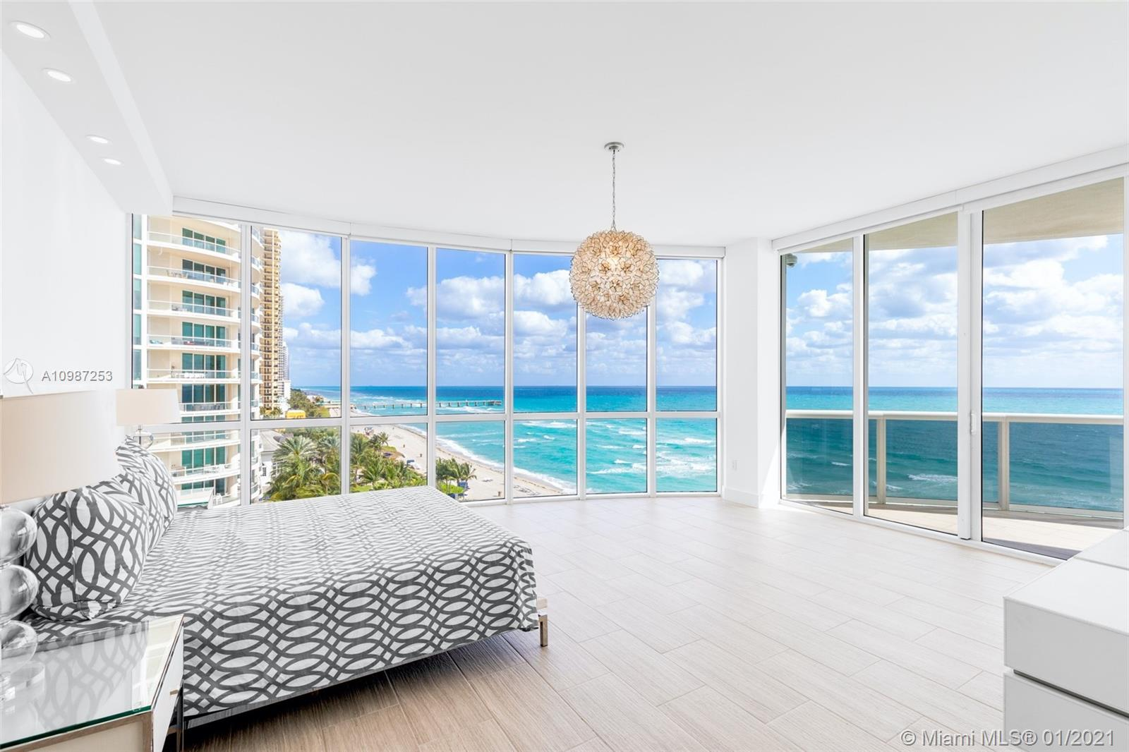 Luxury condo for sale in Sunny Isles Beach. ASSIGNED TANDEM PARKING (2 PARKING SPACES) INCLUDED IN THE SALE (WORTH AROUND $65,000-$75,000) Breathtaking Ocean views, floor-to-ceiling windows throughout and an expansive terrace overlooking the ocean. 3 bedrooms, 3,5 bathrooms unit located in the exclusive beachfront Trump Tower I. Full service building with valet parking, private restaurant on site, beach service, fitness center, Pool, Security and Spa. This unit features 11 foot ceilings, private elevator and foyer, remote controlled blinds and top-of-the-line appliances. Perfect location, just minutes away from Bal Harbour, Aventura and Miami Beach. Tenant occupied till September 14th 2022.
